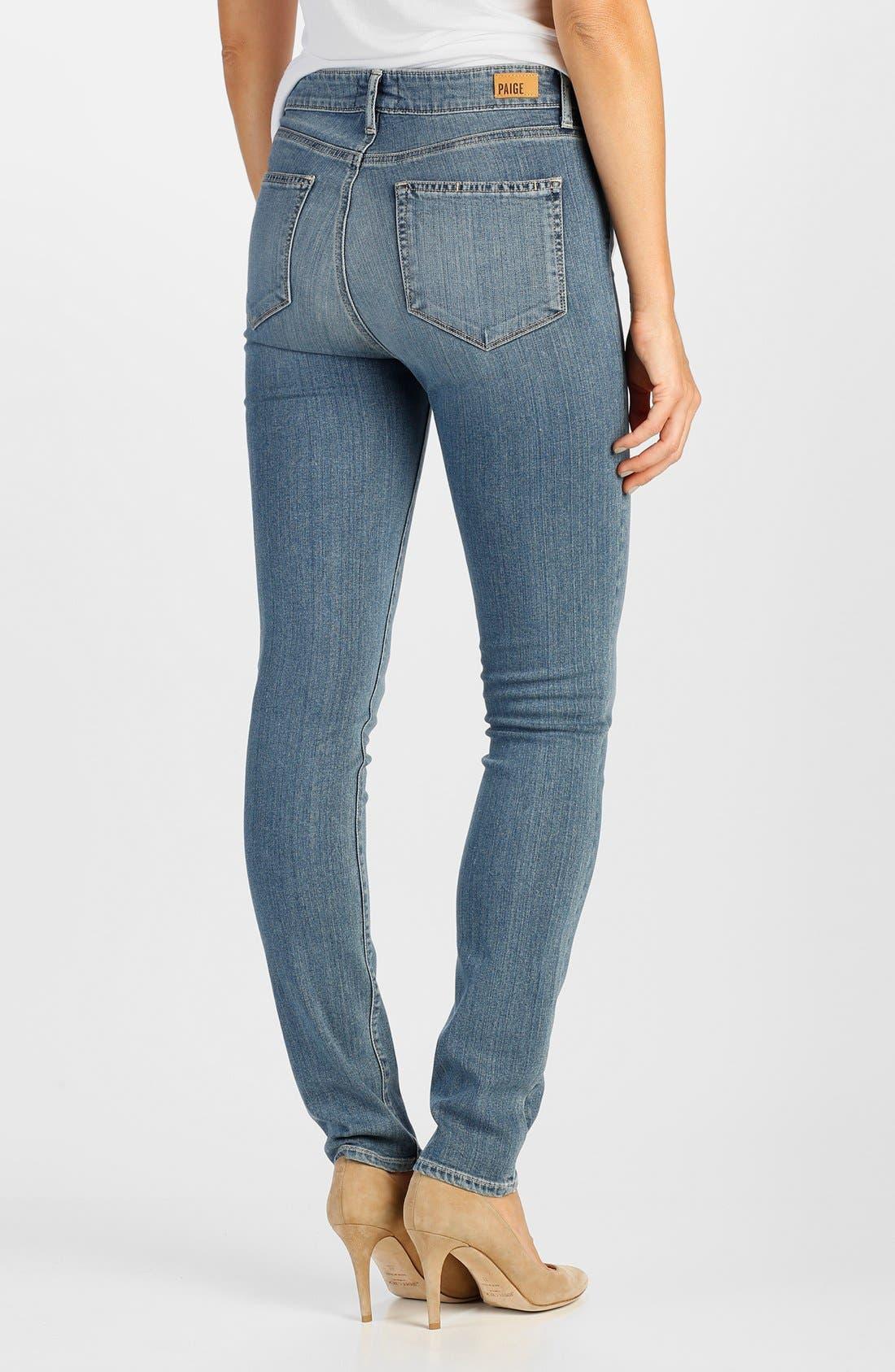 Alternate Image 2  - Paige Denim 'Transcend - Hoxton' High Rise Ultra Skinny Jeans (Teagan)