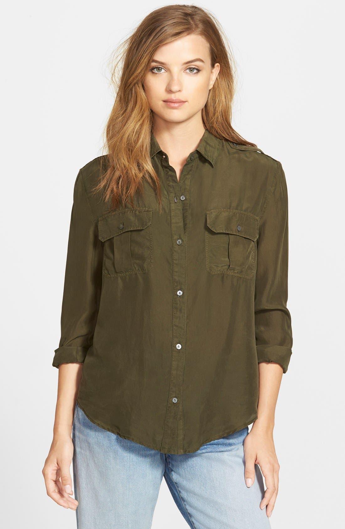 Alternate Image 1 Selected - J Brand Ready-To-Wear 'Edie' Silk Shirt