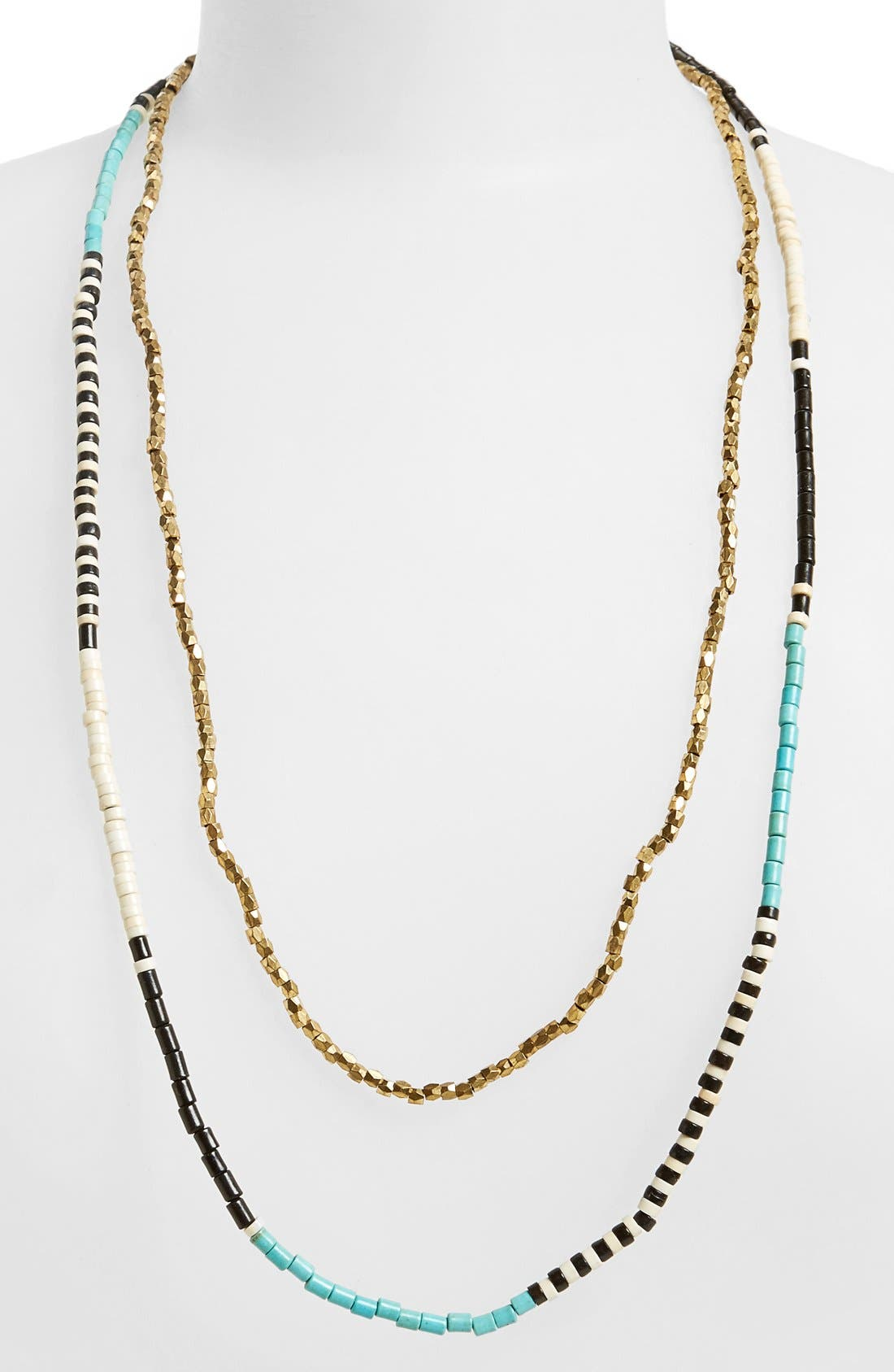 Alternate Image 1 Selected - Panacea Beaded Multistrand Necklace