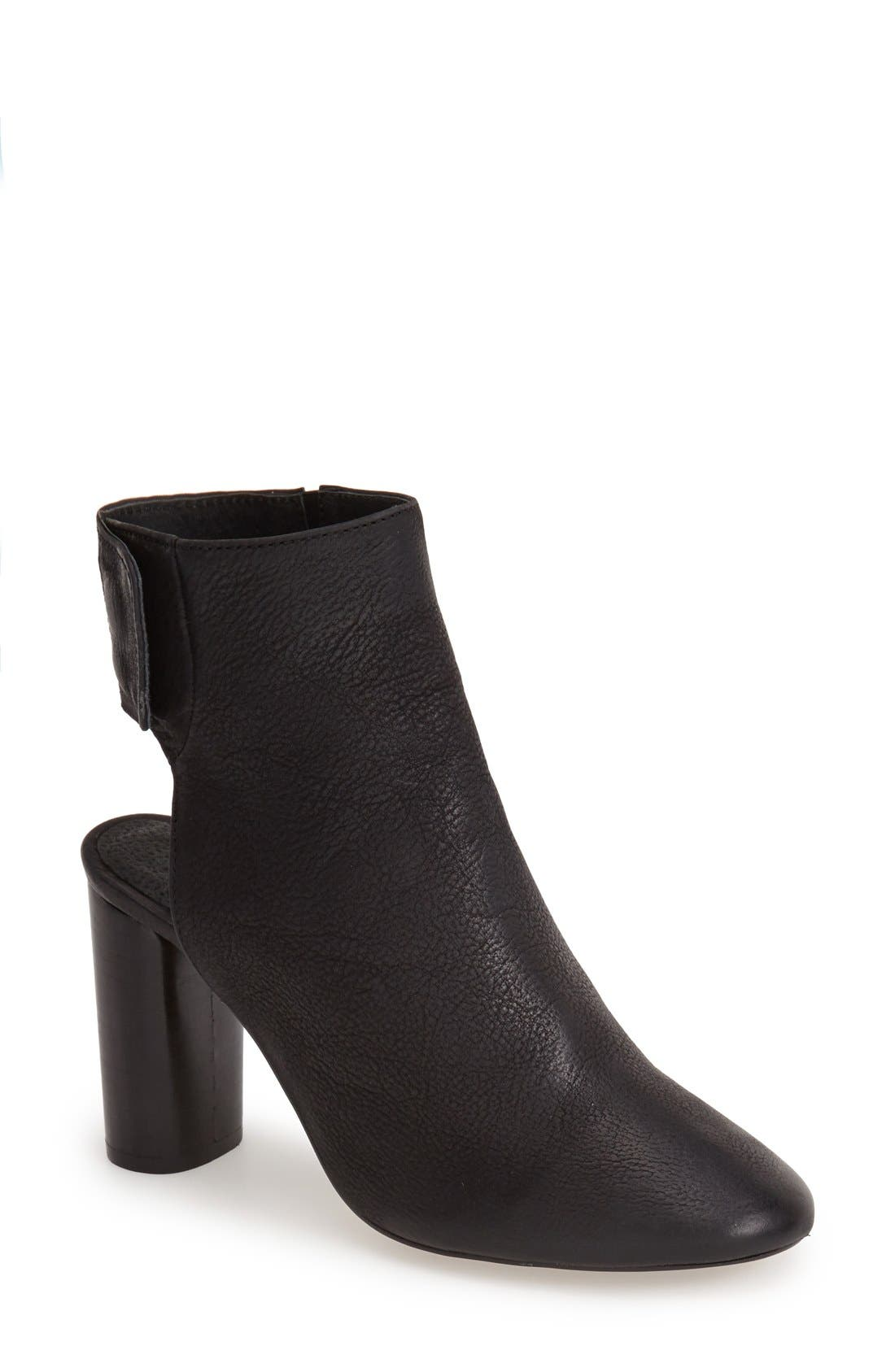 Alternate Image 1 Selected - Topshop 'Maid' Leather Ankle Boot (Women)