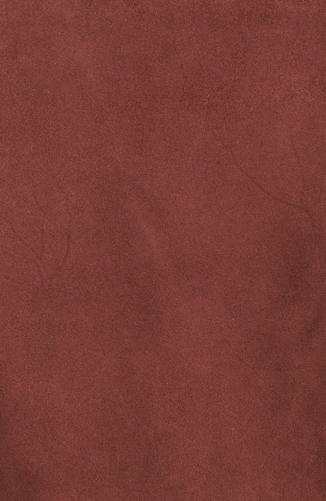 Alternate Image 3  - Veda 'Jayne' Suede Moto Jacket