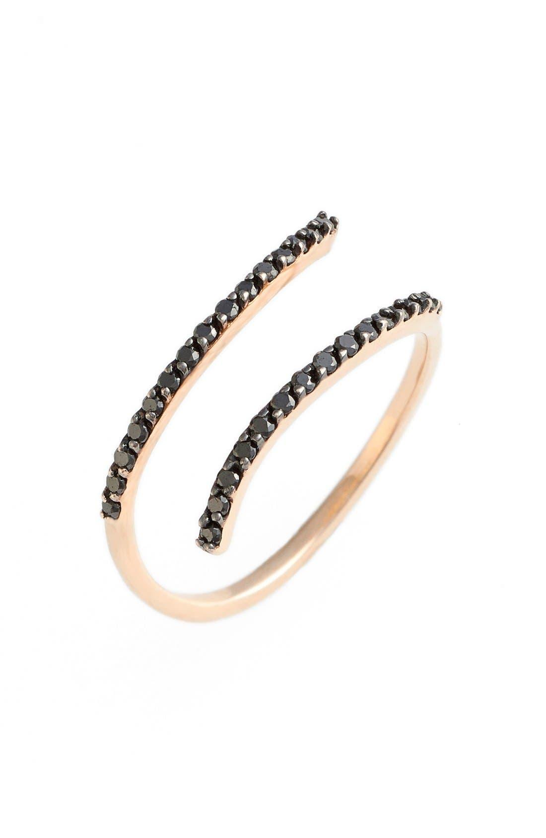 Alternate Image 1 Selected - kismet by milka Diamond Coil Ring