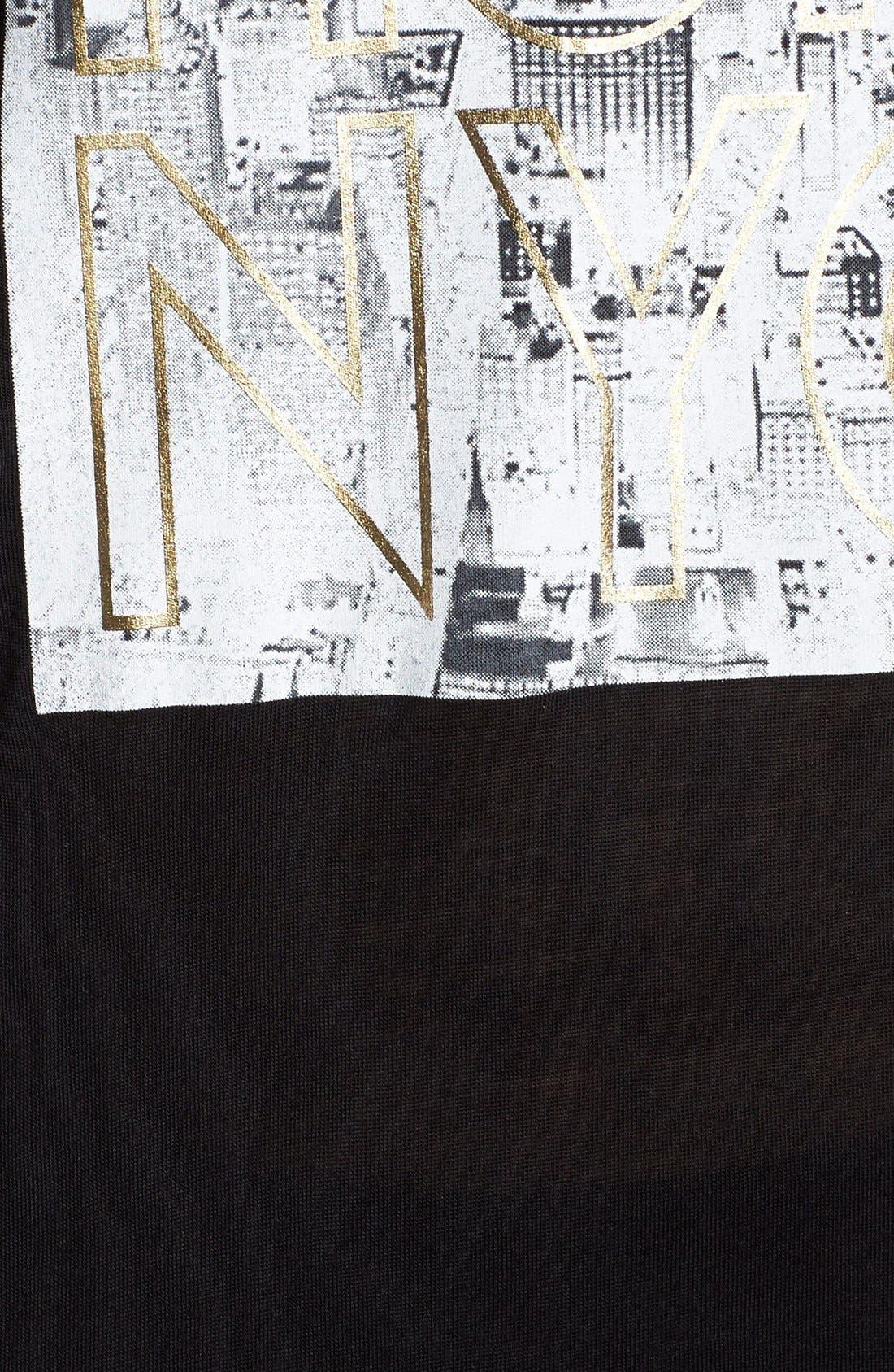 Alternate Image 3  - Betsey Johnson Performance 'Run NYC' Graphic Muscle Tank