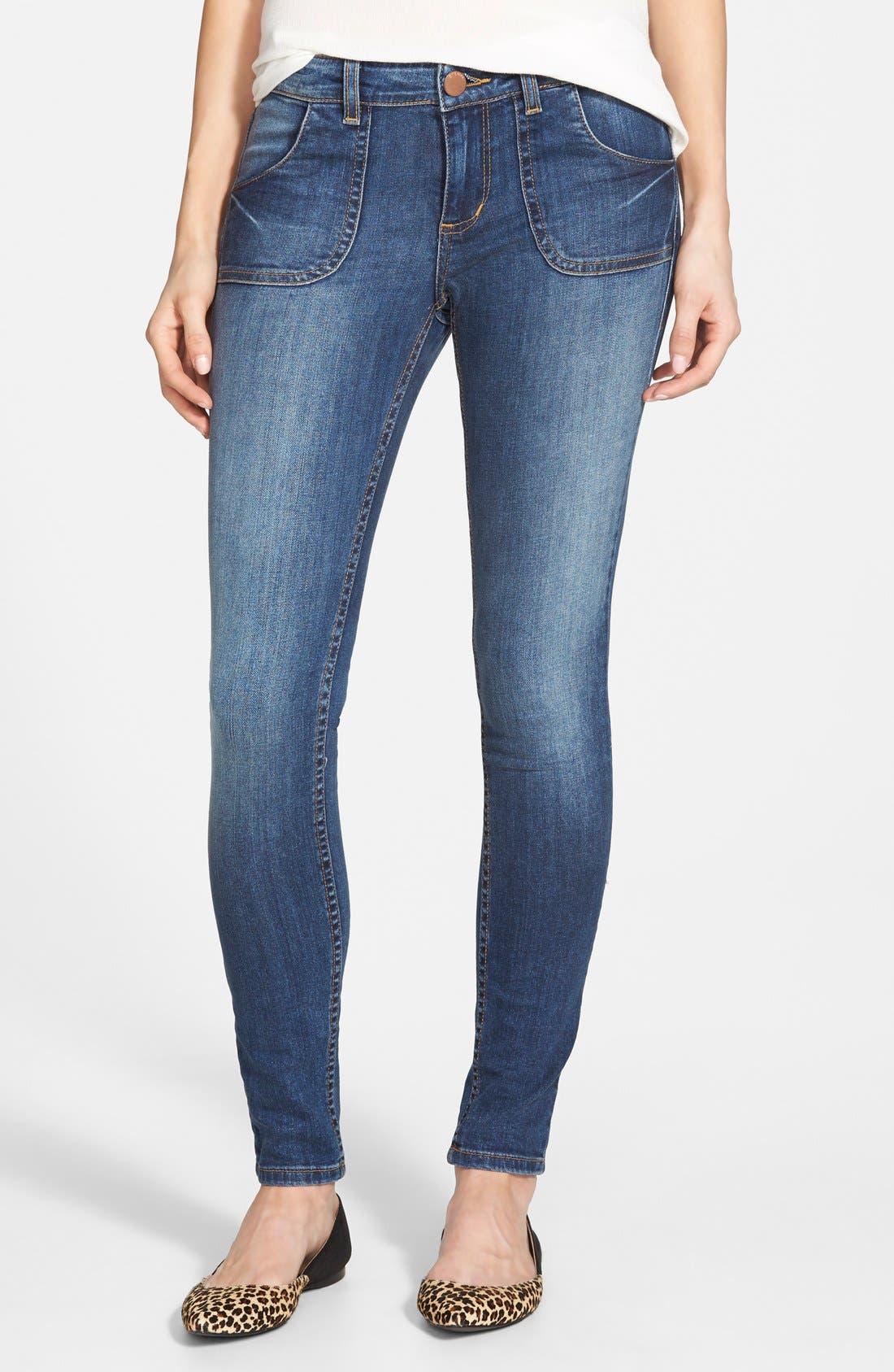 Alternate Image 1 Selected - STS Blue Skinny Jeans (Medium)