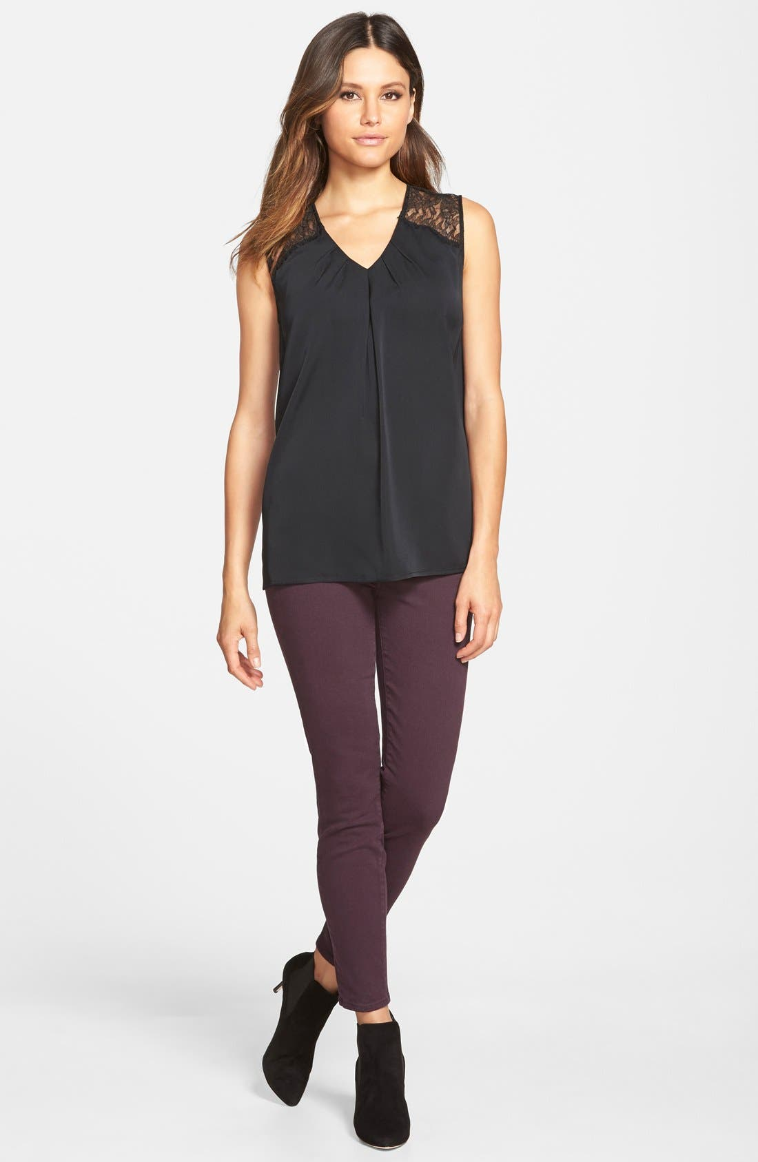 Alternate Image 12  - Paige Denim 'Verdugo' Ankle Skinny Jeans (Autumn Plum) (Nordstrom Exclusive)
