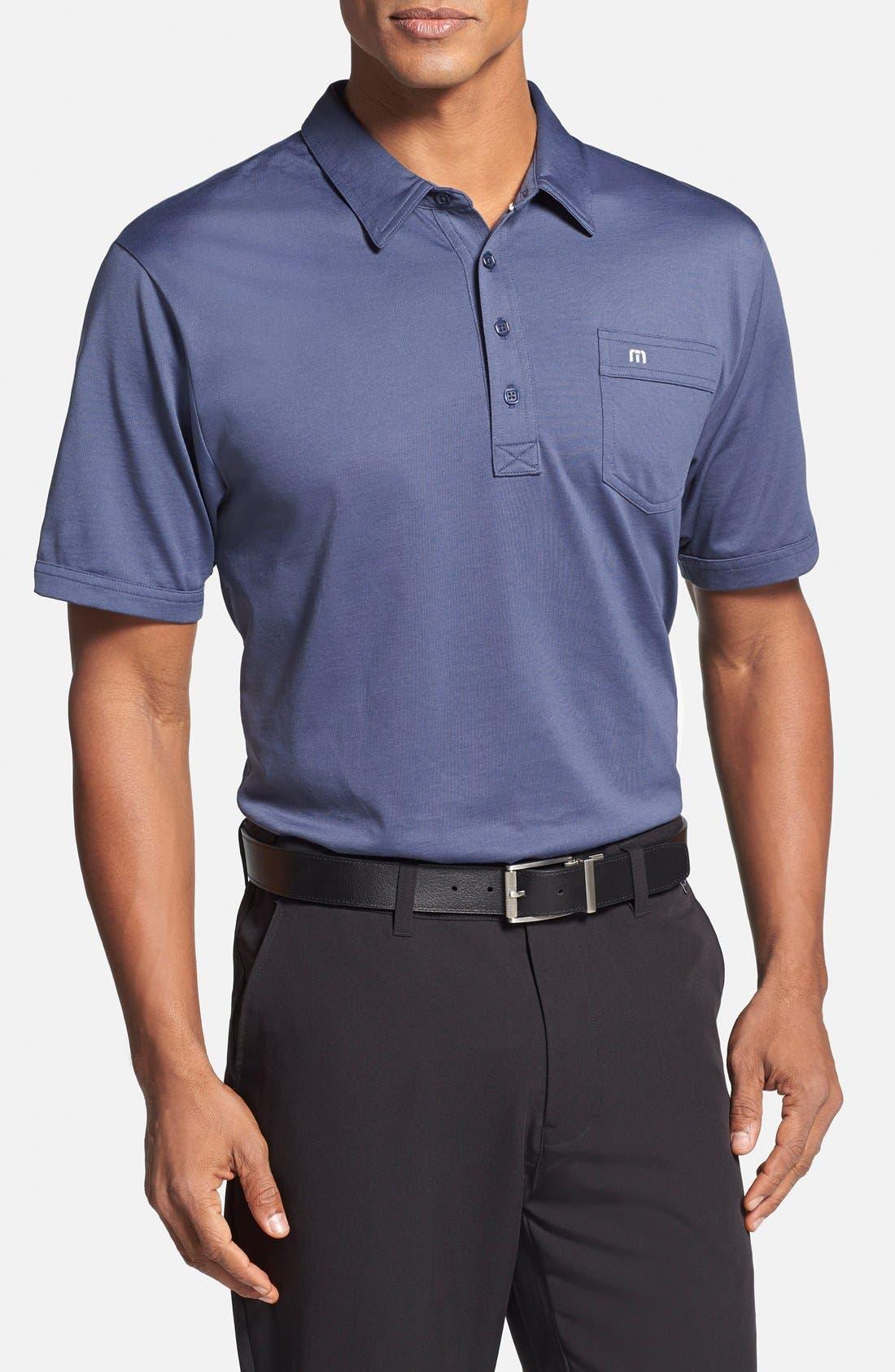 Main Image - Travis Mathew 'OG' Trim Fit Performance Golf Polo