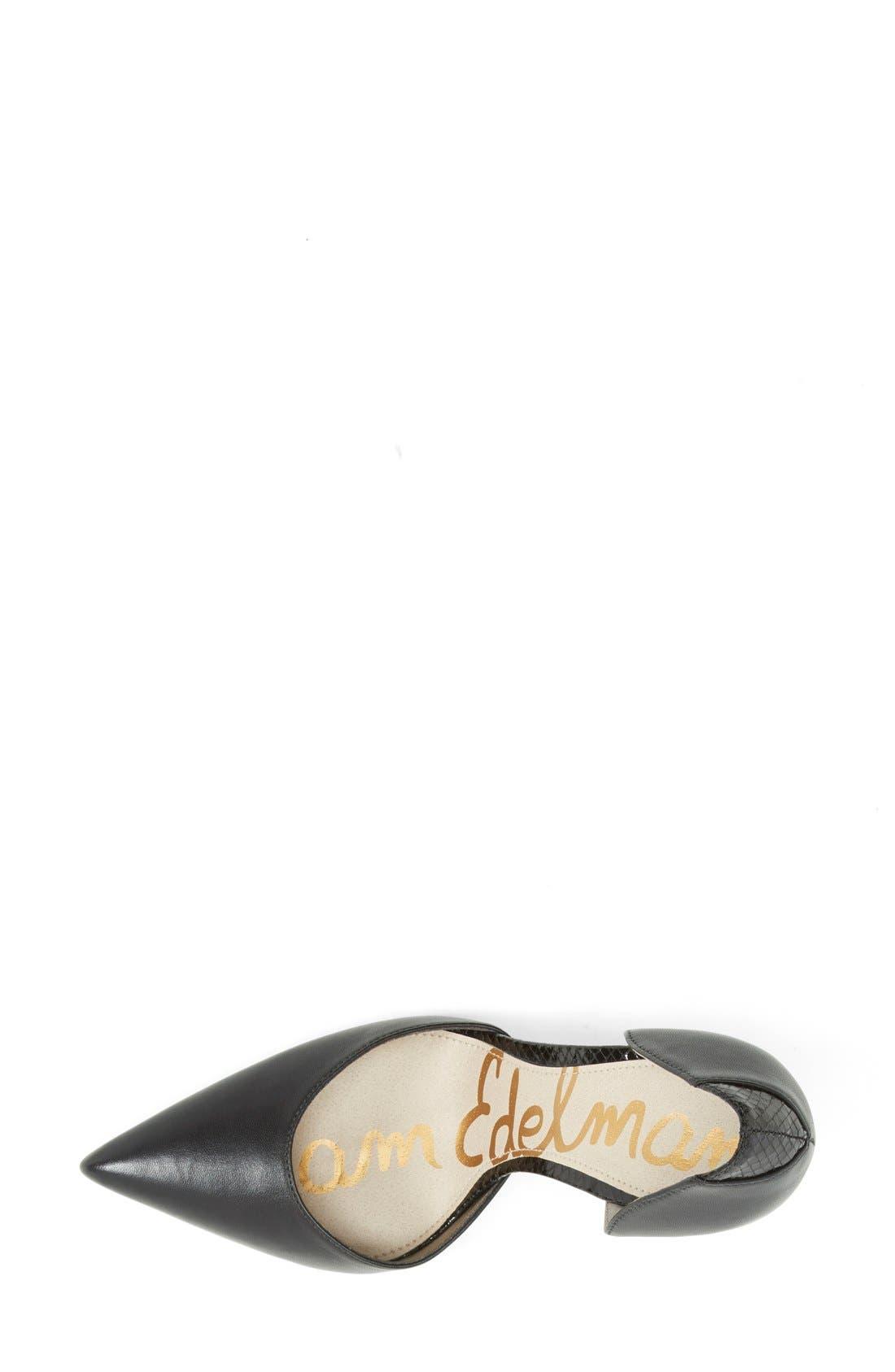 Alternate Image 3  - Sam Edelman 'Delilah' d'Orsay Pump (Women)