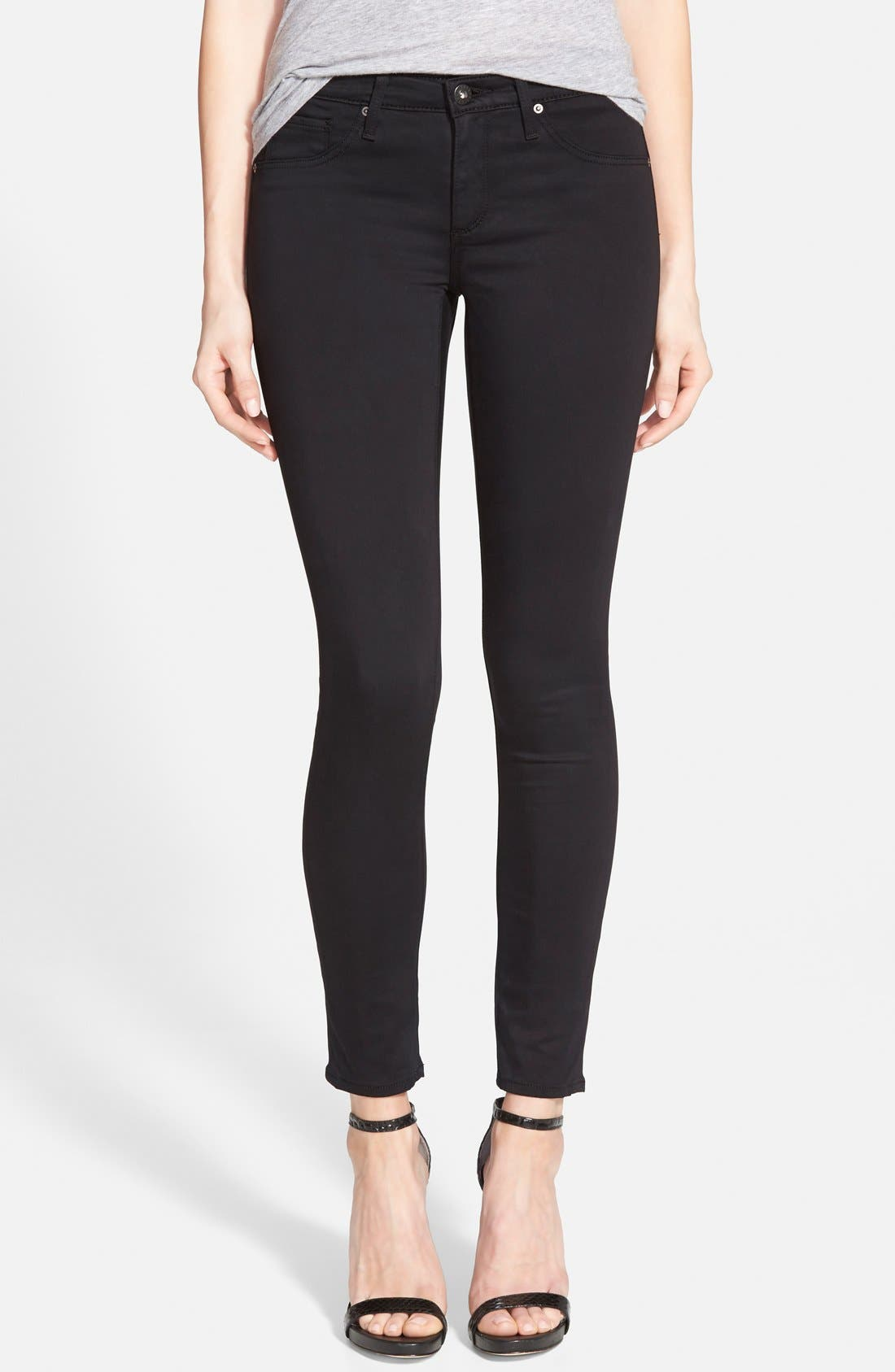 AG The Legging Coated Ankle Jeans