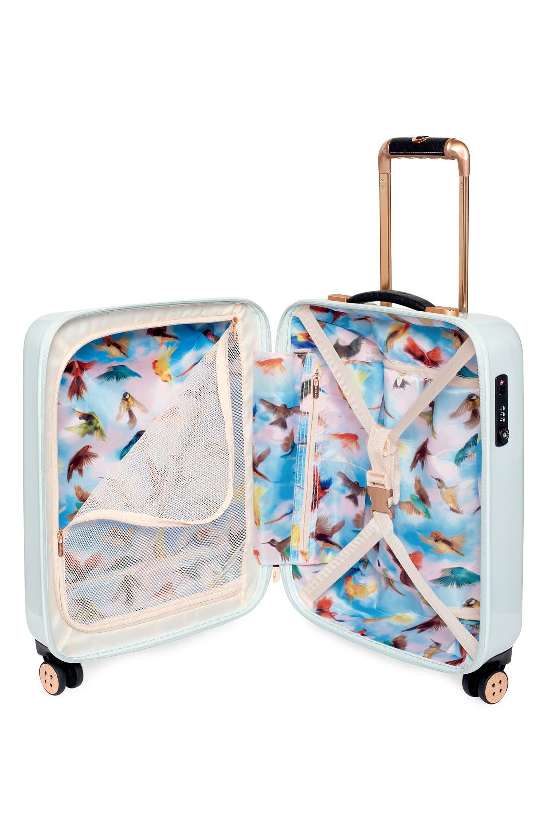 Alternate Image 3  - Ted Baker London 'Small Rose' Hard Shell Suitcase (22 Inch)
