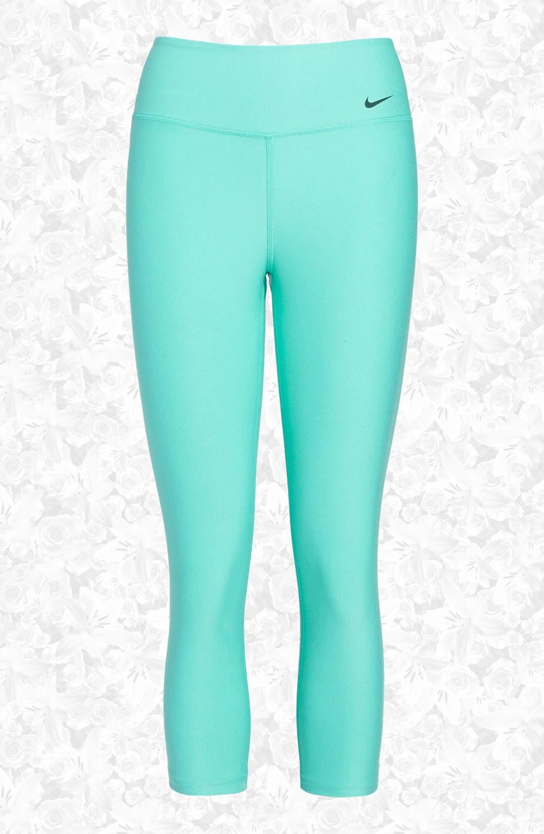 Alternate Image 1 Selected - Nike 'Legend 2.0 Tight Poly' Dri-FIT Training Capri Leggings (Women)
