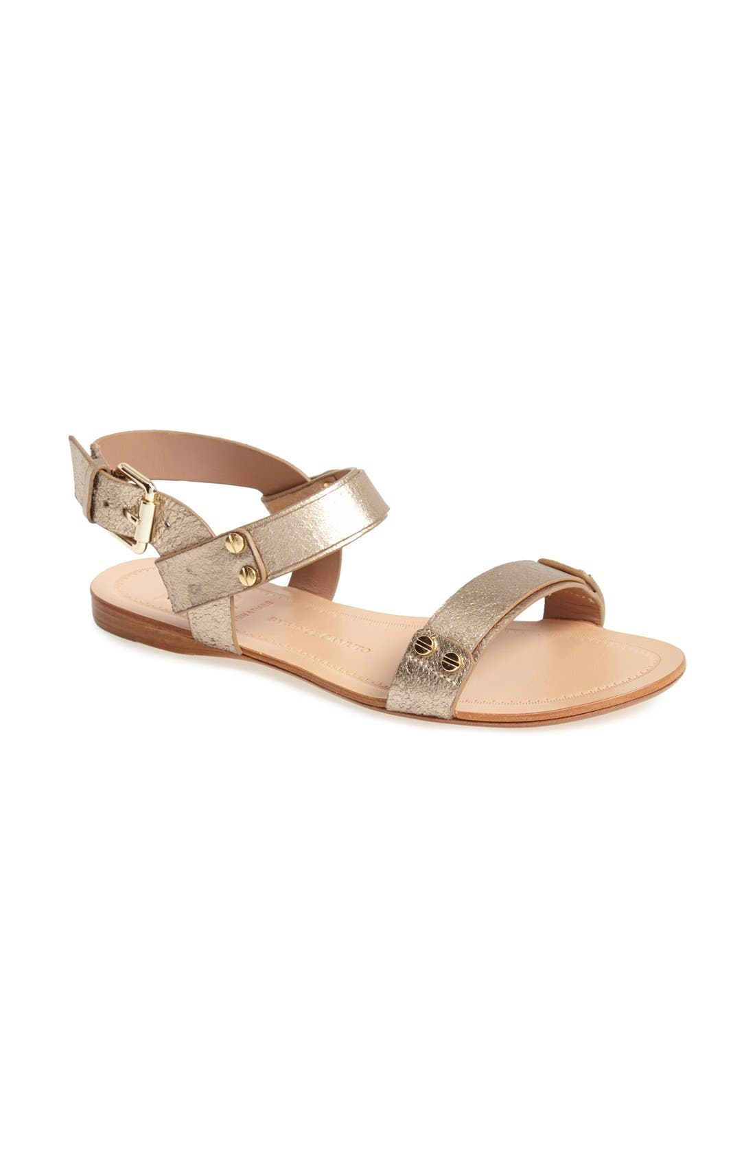 Alternate Image 1 Selected - VC Signature 'Magnoliah' Leather Sandal (Women)