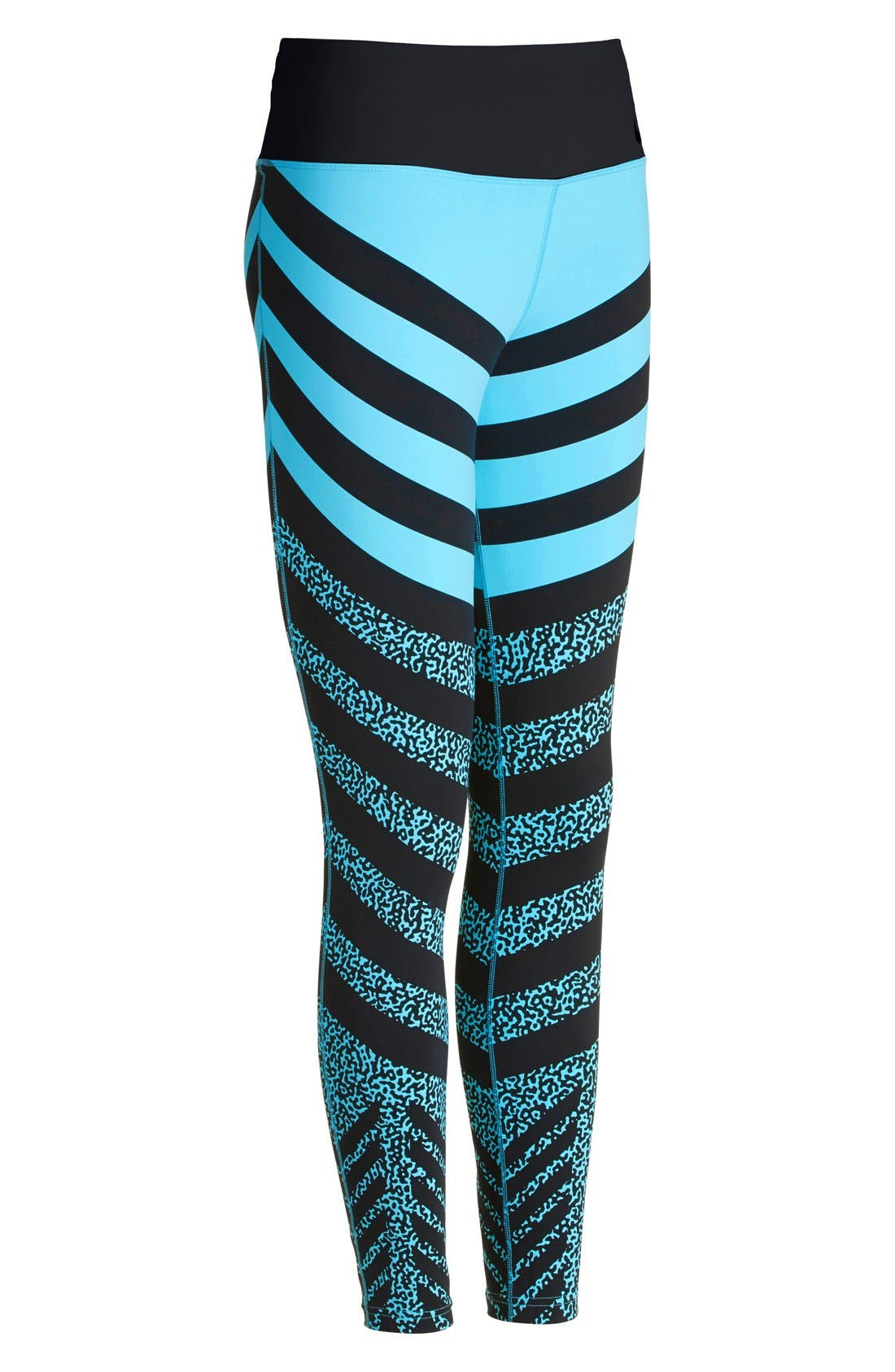 Alternate Image 5  - Nike 'Legendary - Mezzo Zebra' Training Tights