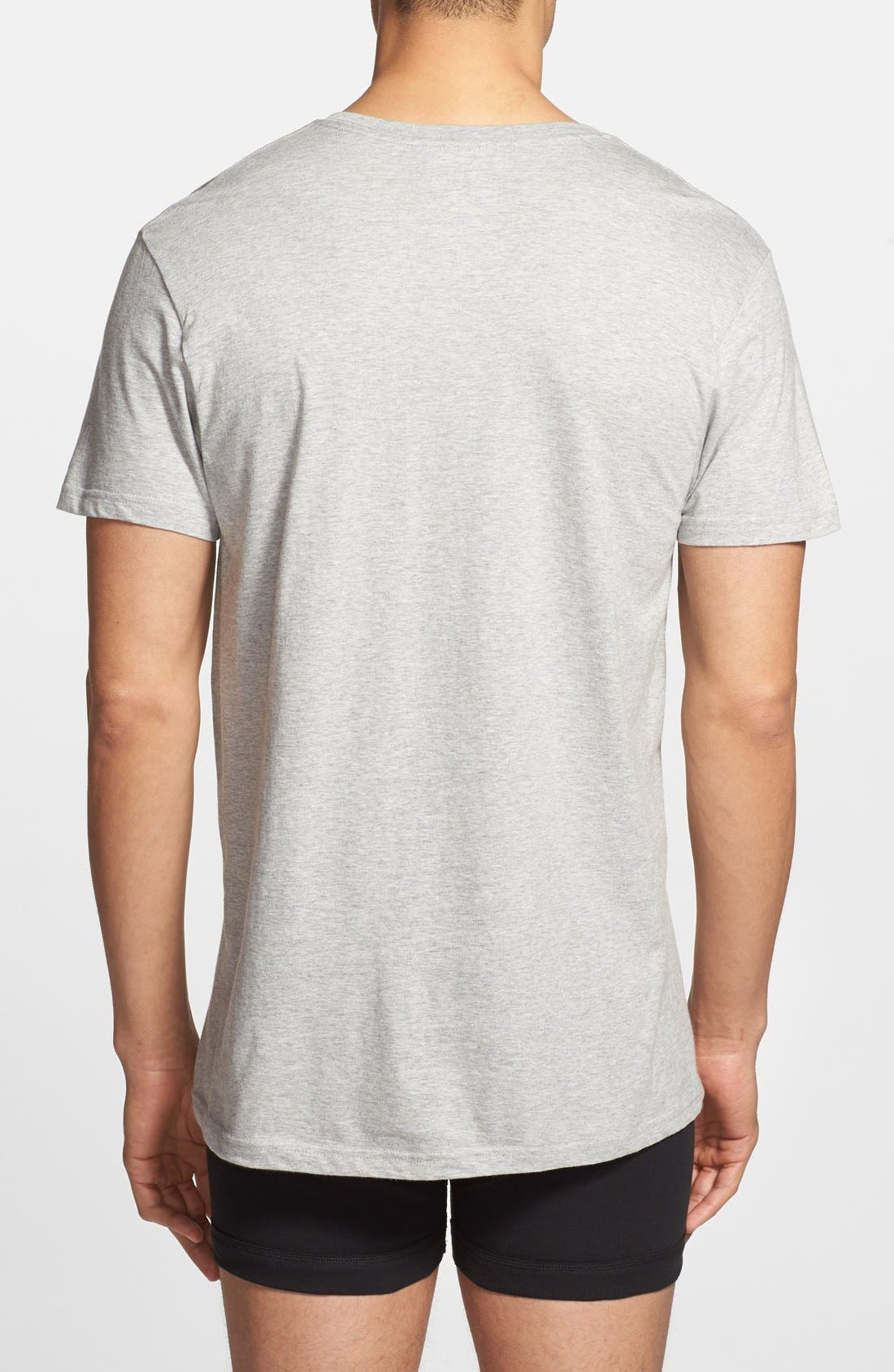 Alternate Image 2  - Polo Ralph Lauren 3-Pack V-Neck T-Shirts