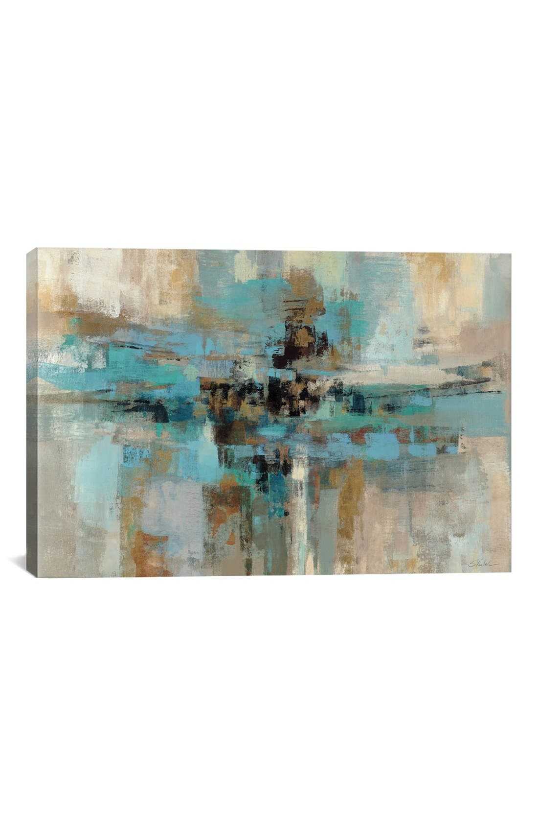 Alternate Image 1 Selected - iCanvas 'Morning Fjord - Silvia Vassileva' Giclée Print Canvas Art
