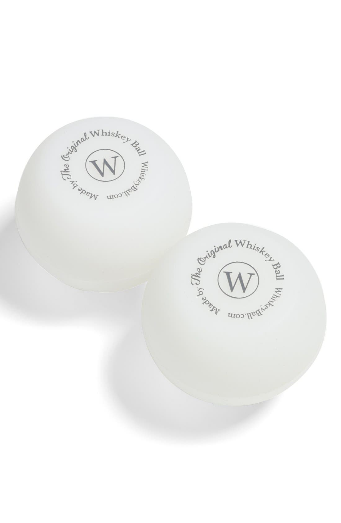 The Original WHISKEY BALL Ice Mold (2-Pack)