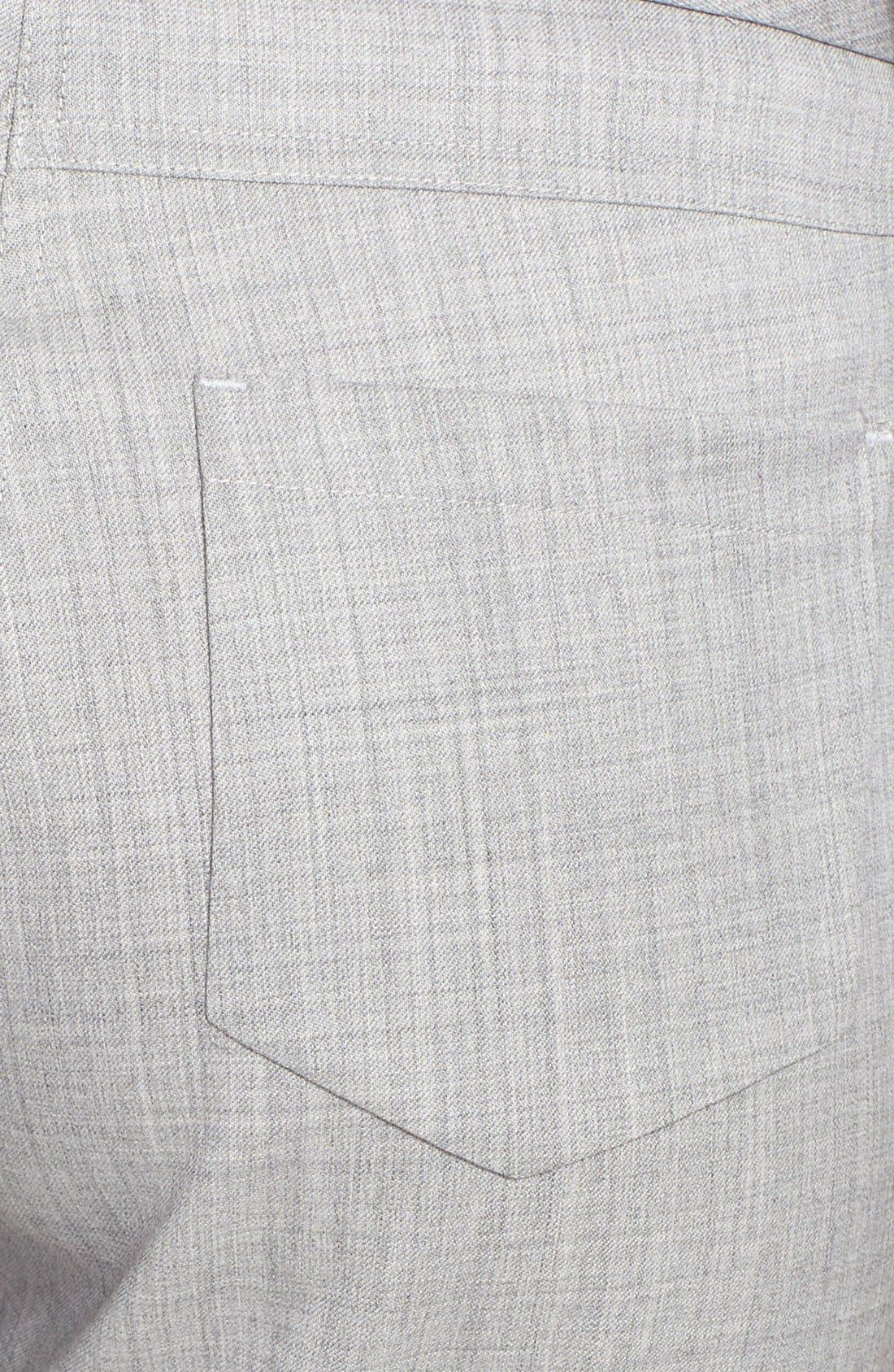 Alternate Image 3  - Fabiana Filippi Slim Lightweight Wool Pants