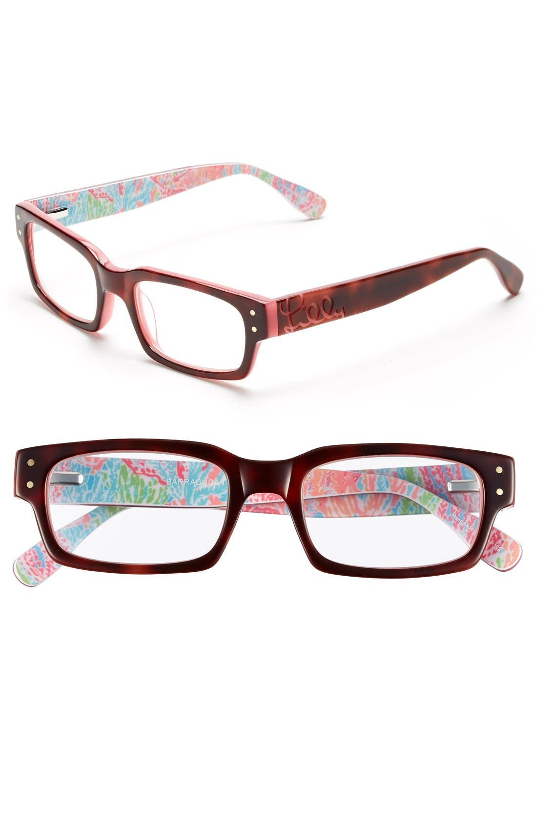 Main Image - Lilly Pulitzer® 'Barracuda' 49mm Reading Glasses