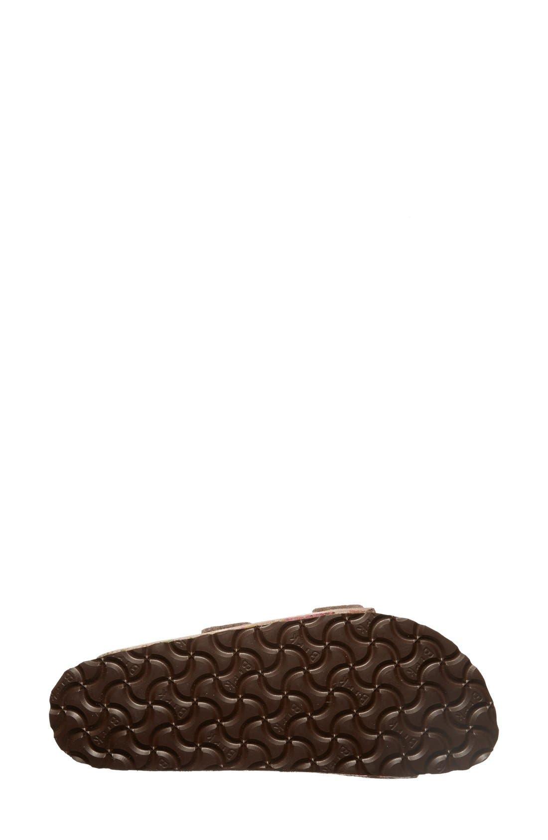 Alternate Image 4  - Birkenstock 'Arizona' Soft Footbed Printed Leather Sandal (Women)