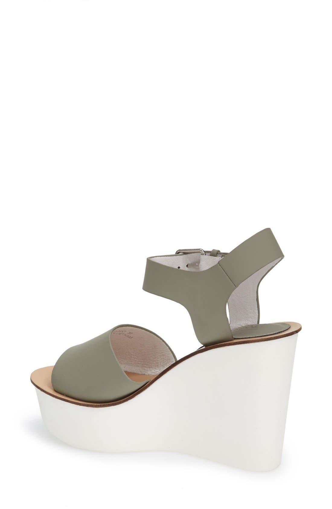 Alternate Image 2  - Topshop Platform Wedge Sandal (Women)