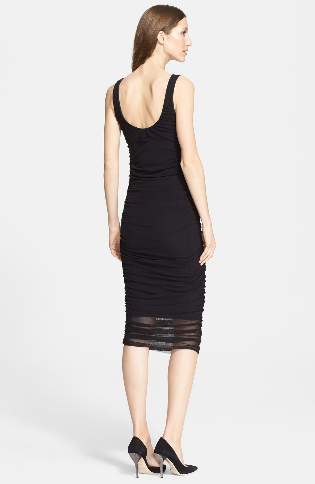 Alternate Image 2  - Jean Paul Gaultier Ruched Tulle Tank Dress (Nordstrom Exclusive)