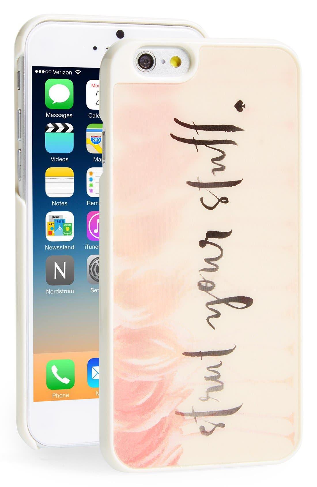 Alternate Image 1 Selected - kate spade new york 'flamingo' lenticular iPhone 6 case