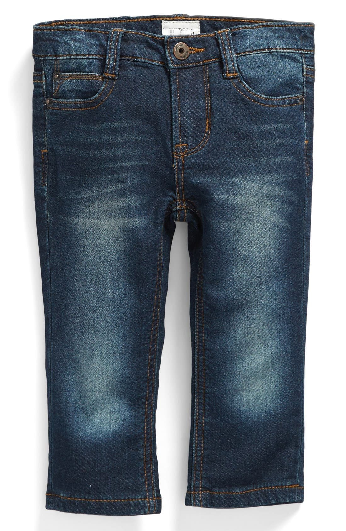 Hudson Kids 'Parker' French Terry Jeans (Baby Boys)