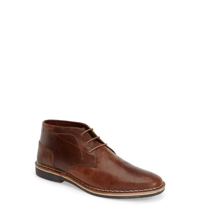 Steve Madden 'Harken' Leather Chukka Boot (Men) | Nordstrom