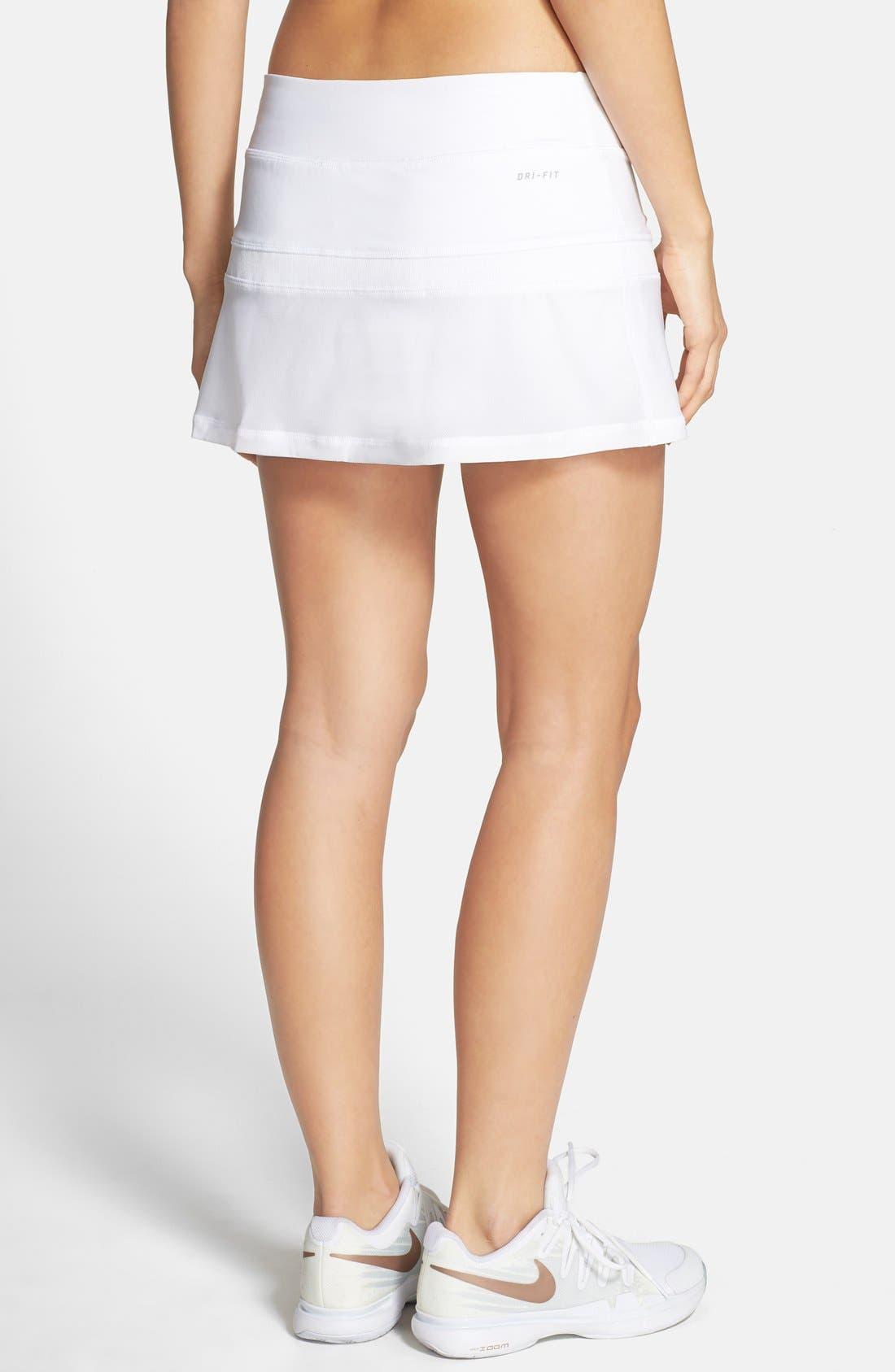 Alternate Image 2  - Nike Colorblock Tennis Skirt
