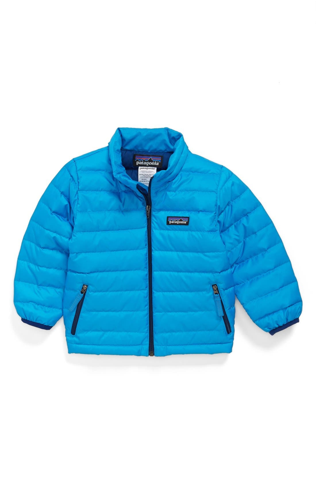 Alternate Image 1 Selected - Patagonia Down Sweater Jacket (Baby Boys) (Online Only)