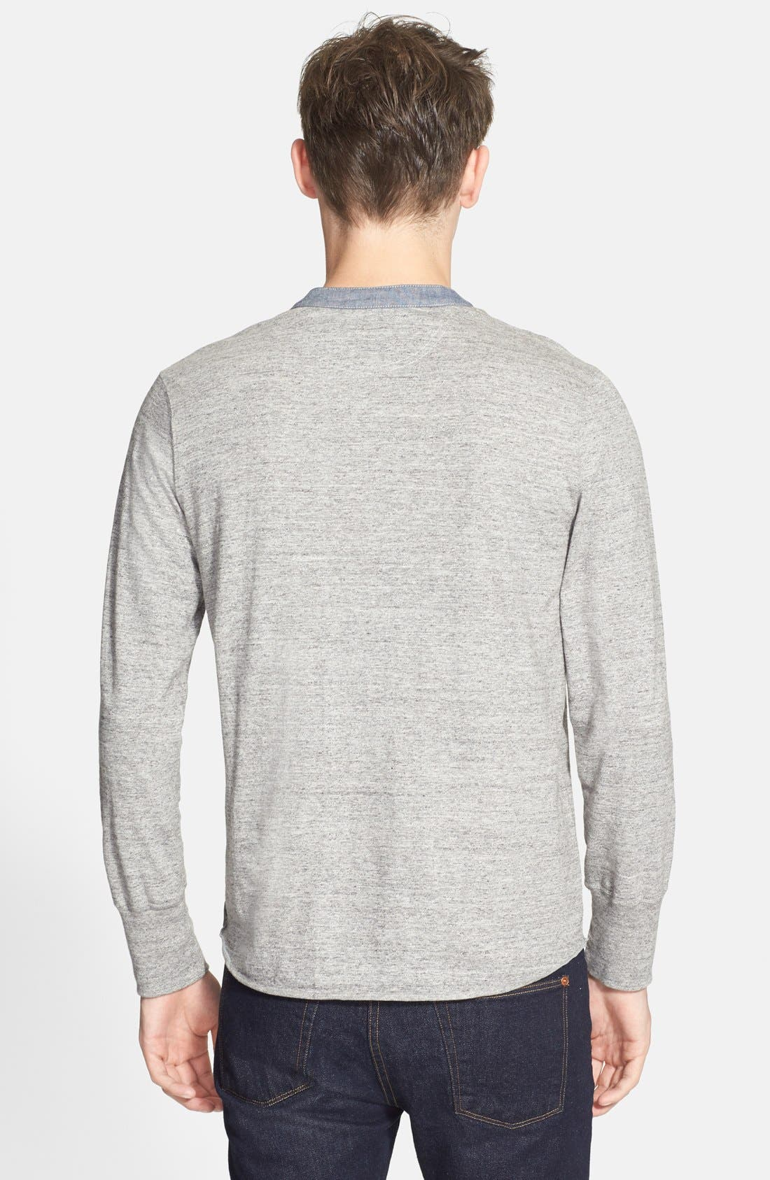 Alternate Image 2  - Todd Snyder Classic Henley