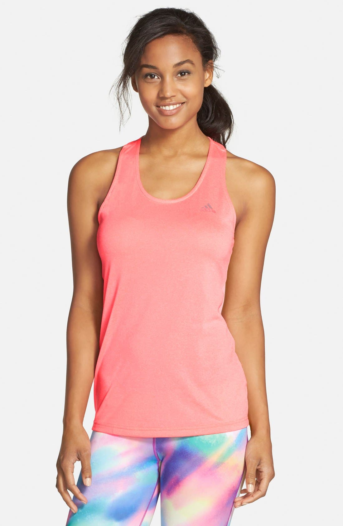 Main Image - adidas 'Derby' T-Back Tank (Online Only)