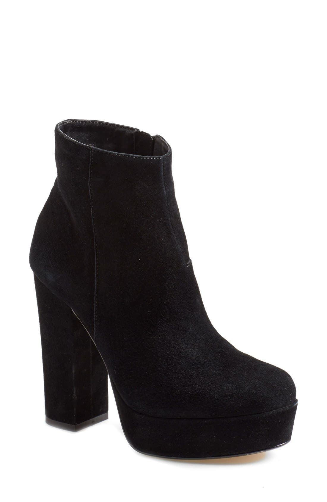 Alternate Image 1 Selected - Steve Madden 'Joanie' Platform Bootie (Women)