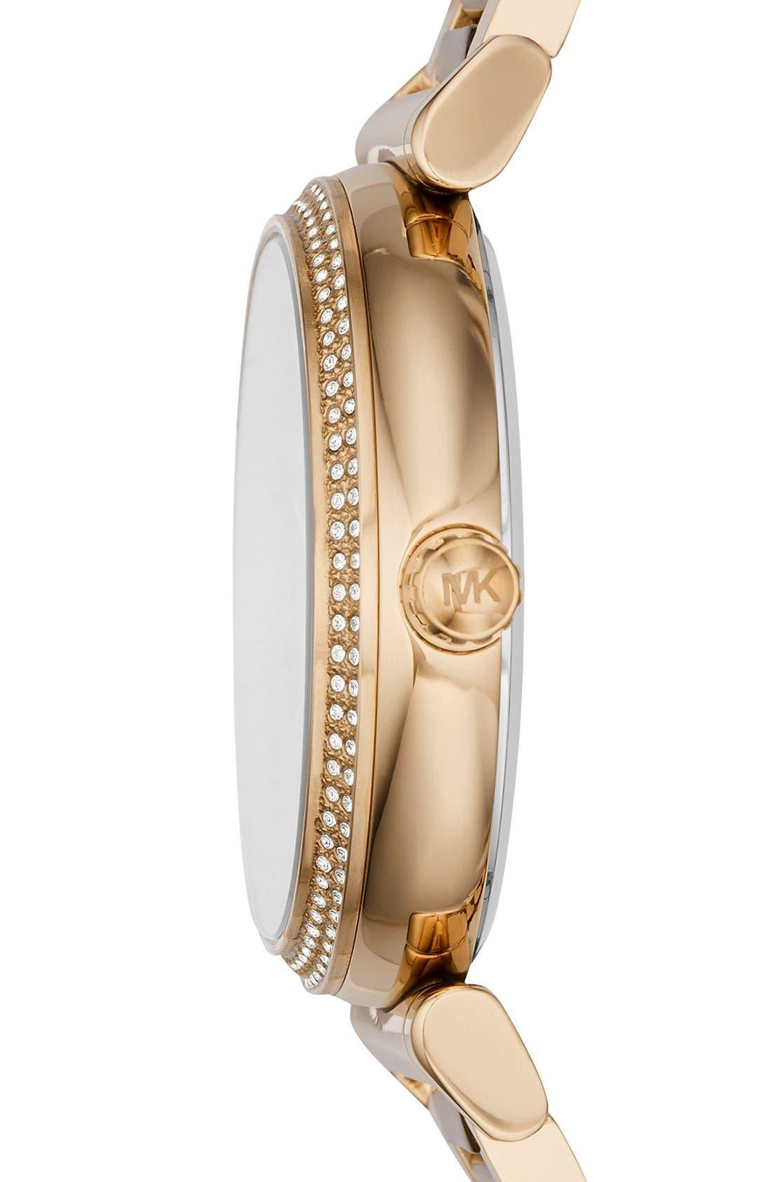 Alternate Image 2  - MICHAEL Michael Kors 'Catlin' Bracelet Watch, 38mm
