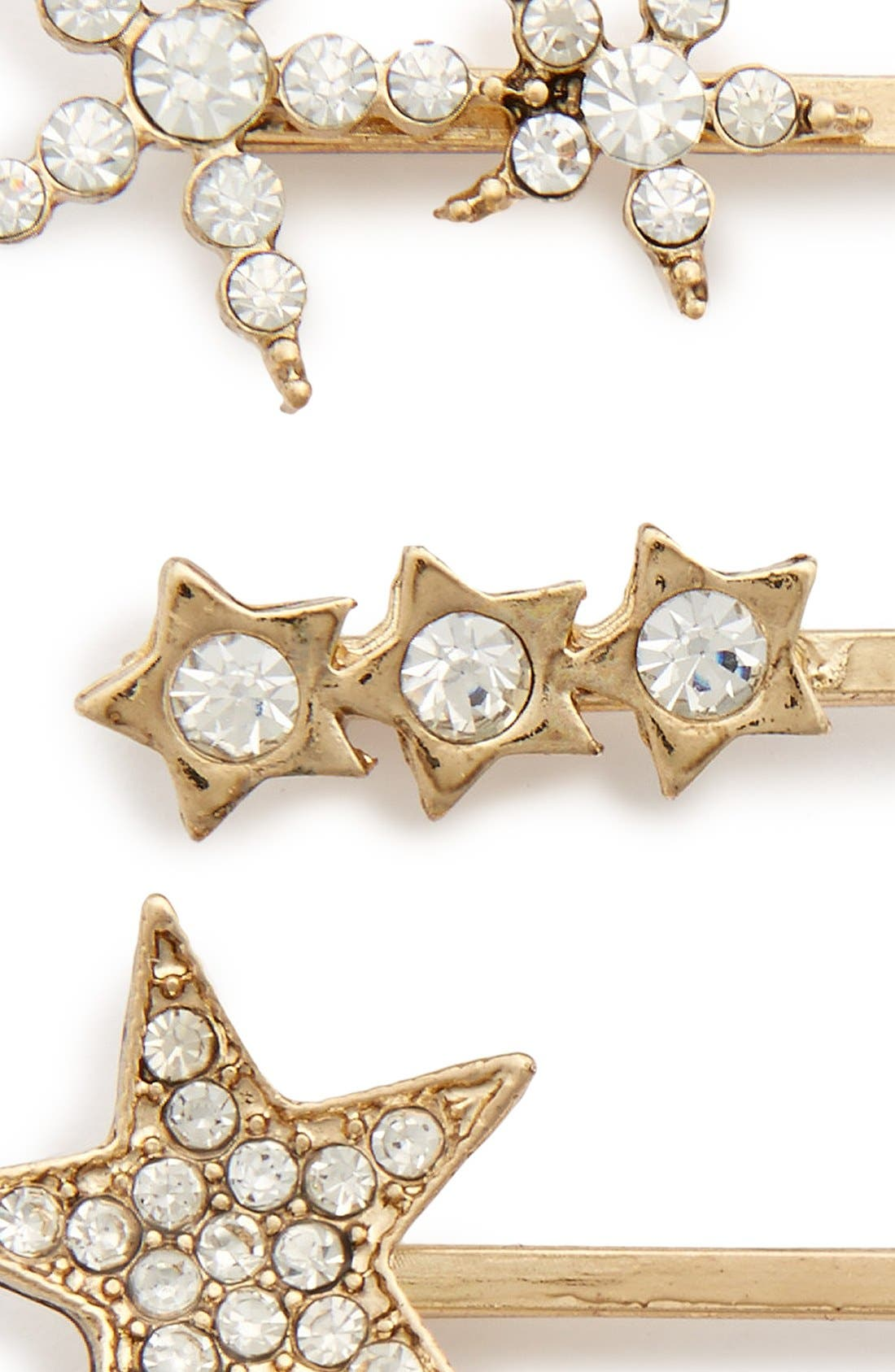 Alternate Image 2  - Tasha 'Crystal Stars' Bobby Pins (Set of 4)