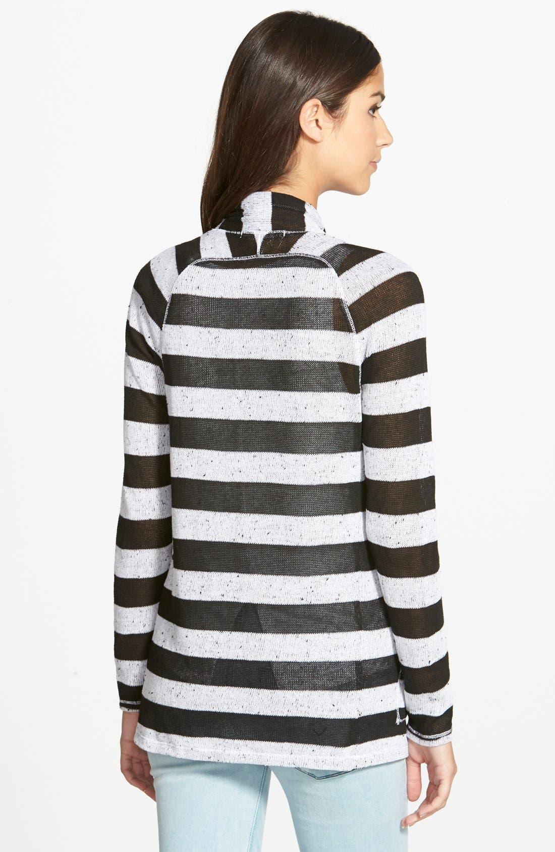 Alternate Image 2  - Stateside Stripe Cardigan