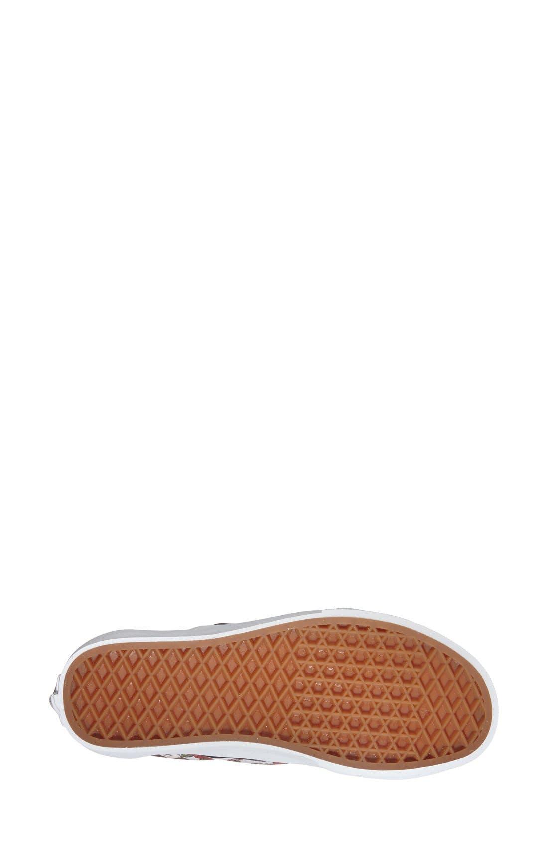 Alternate Image 4  - Vans 'Classic - Disney® Belle' Slip-On Sneaker (Women)