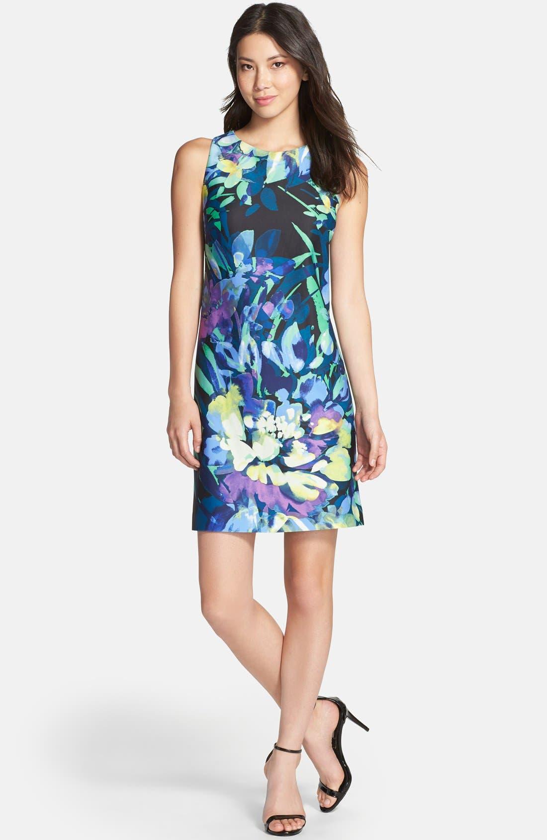 Alternate Image 3  - Vince Camuto Print Sheath Dress