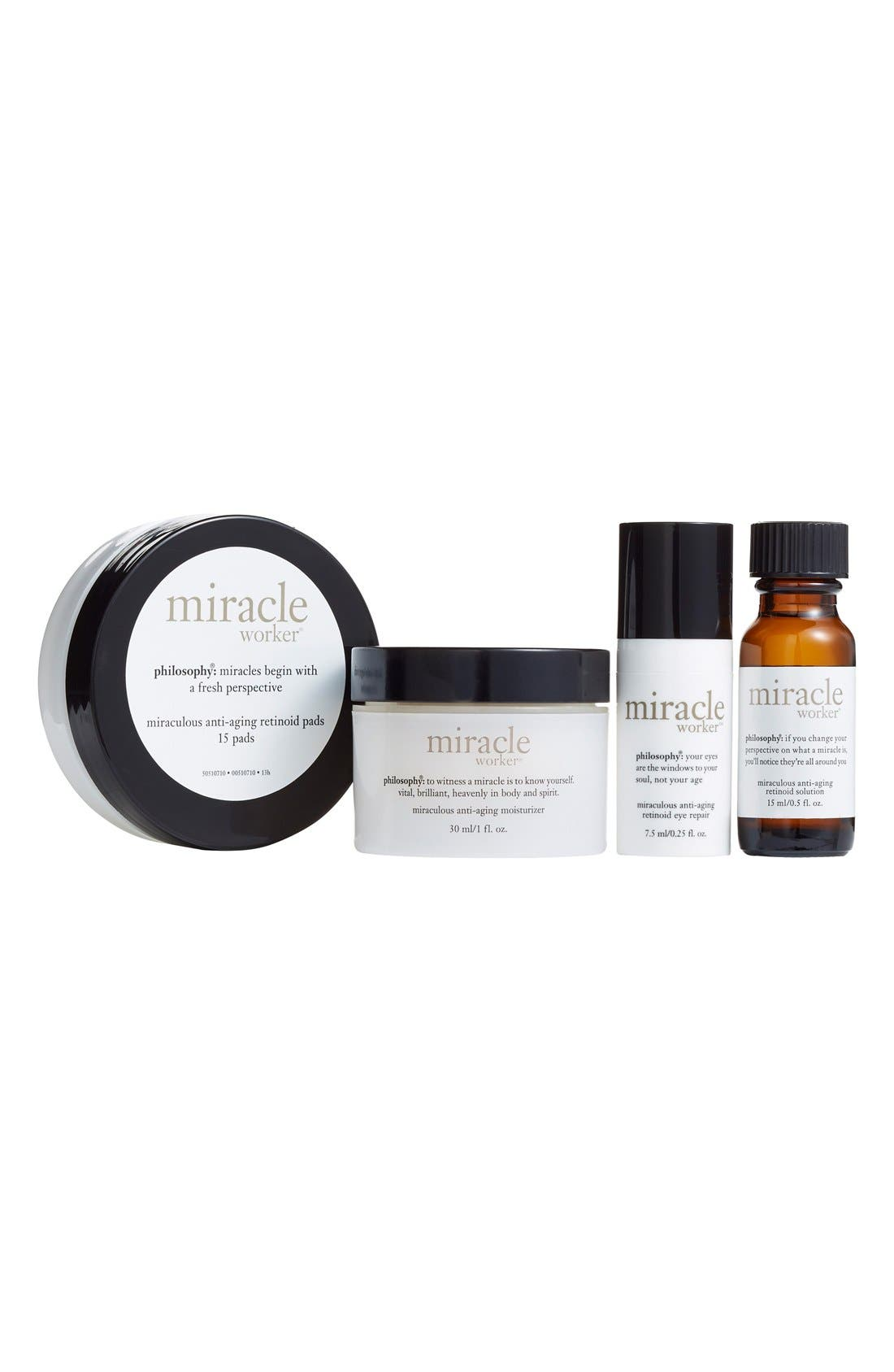philosophy 'miracle worker' trial kit