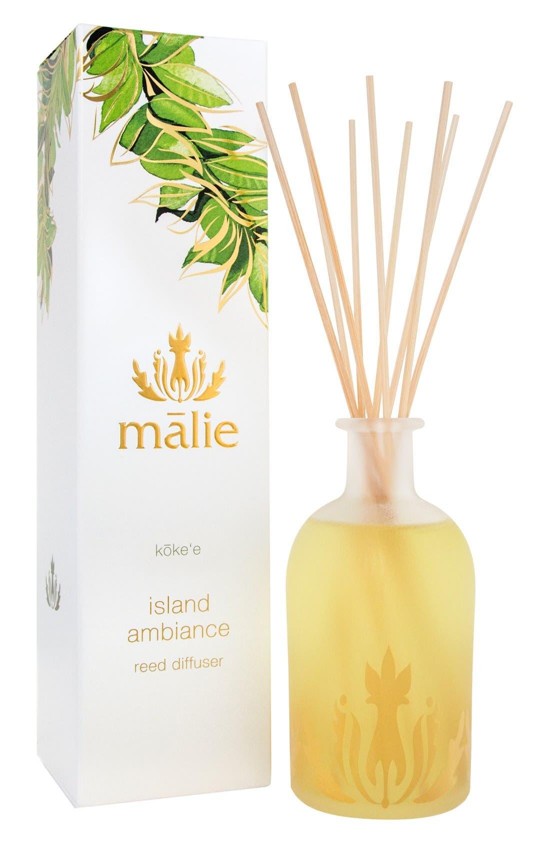 Malie Organics Island Ambience™ Koke'e Reed Diffuser