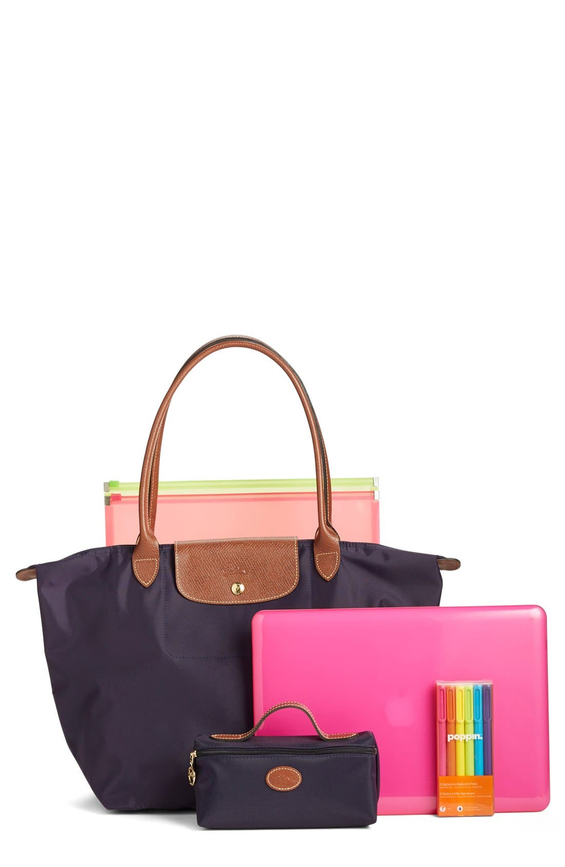 Alternate Image 8  - Longchamp 'Large Le Pliage' Nylon Tote