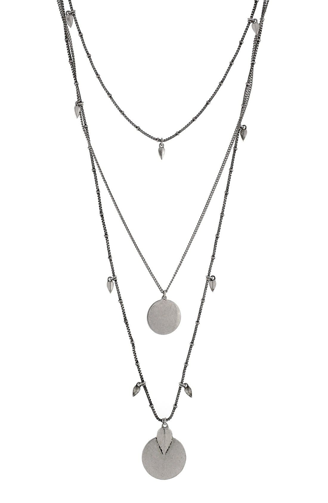 Main Image - Vince Camuto 'Nomad Queen' Layered Pendant Necklace