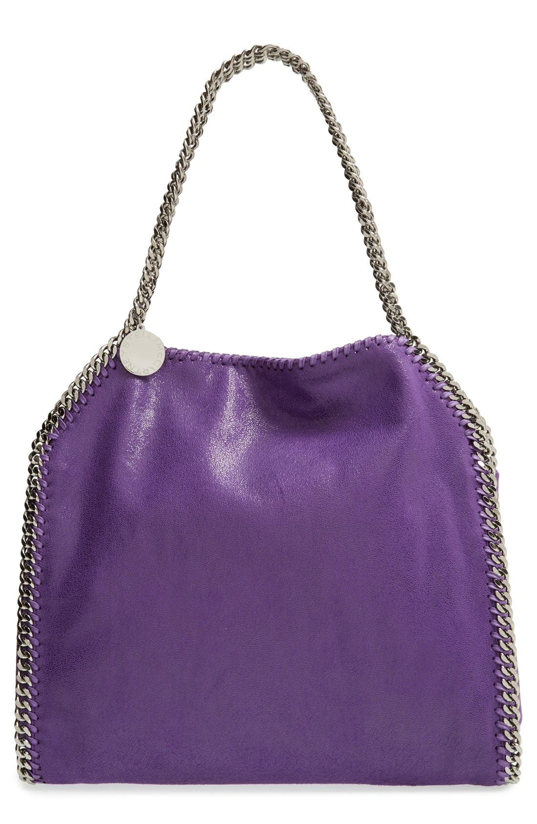 Alternate Image 1 Selected - Stella McCartney 'Small Falabella - Shaggy Deer' Faux Leather Tote
