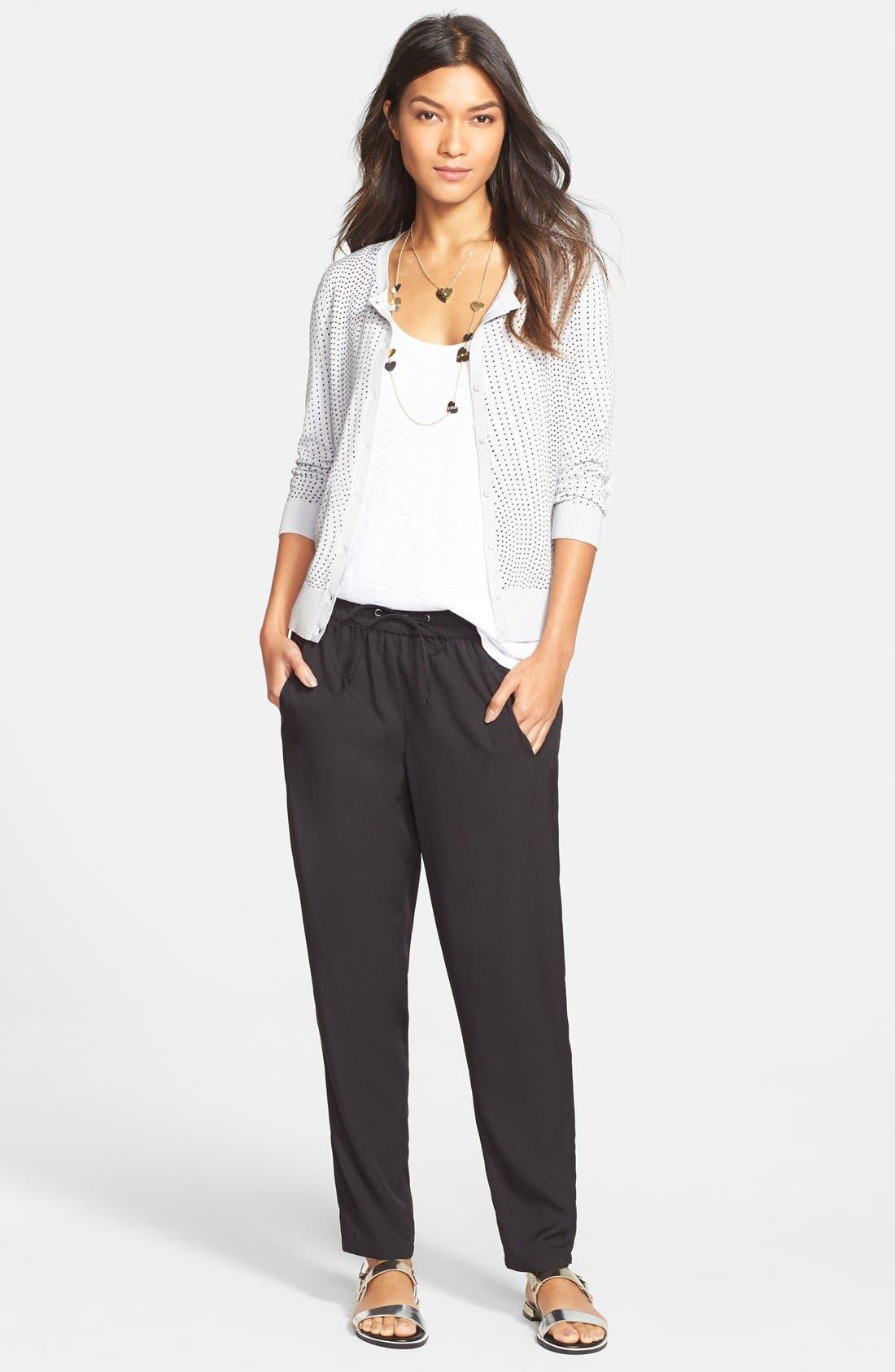 Halogen® Cardigan, LAmade Tank & Jessica Simpson Pants