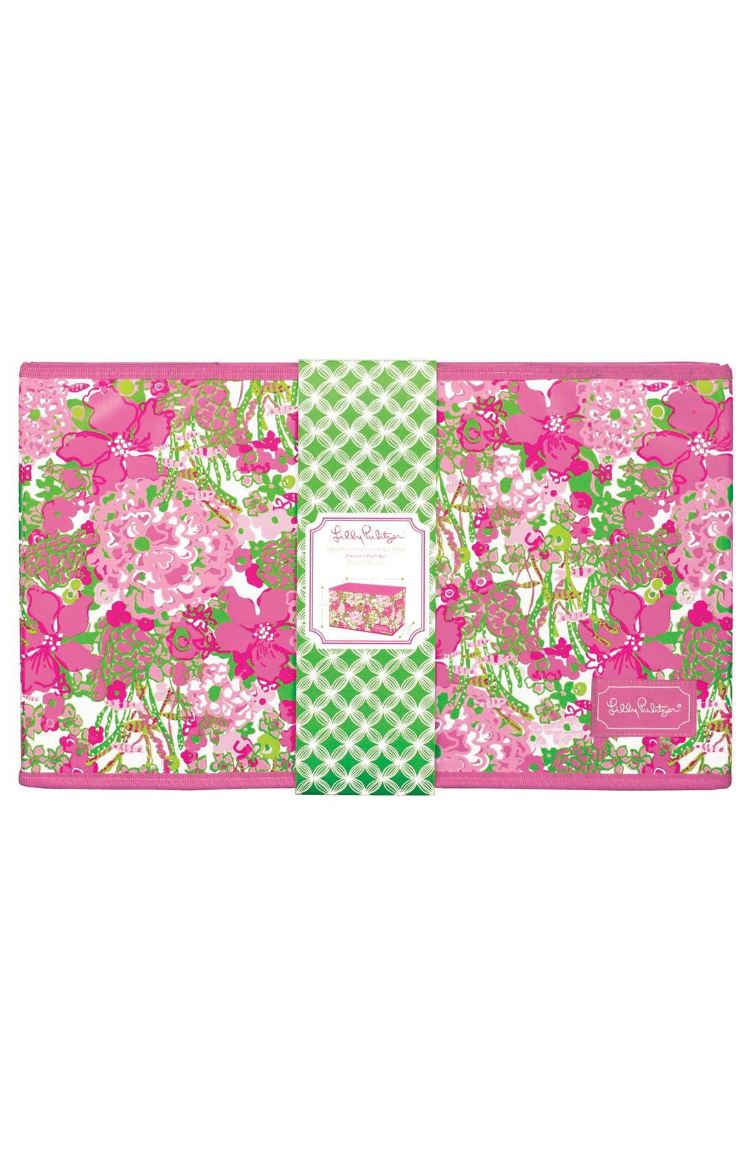 Alternate Image 1 Selected - Lilly Pulitzer® Organizational Bin