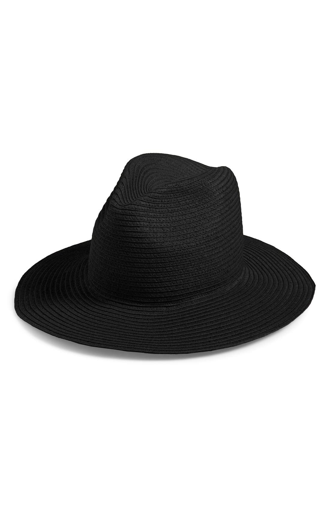 Alternate Image 1 Selected - Madewell Pieced Straw Hat