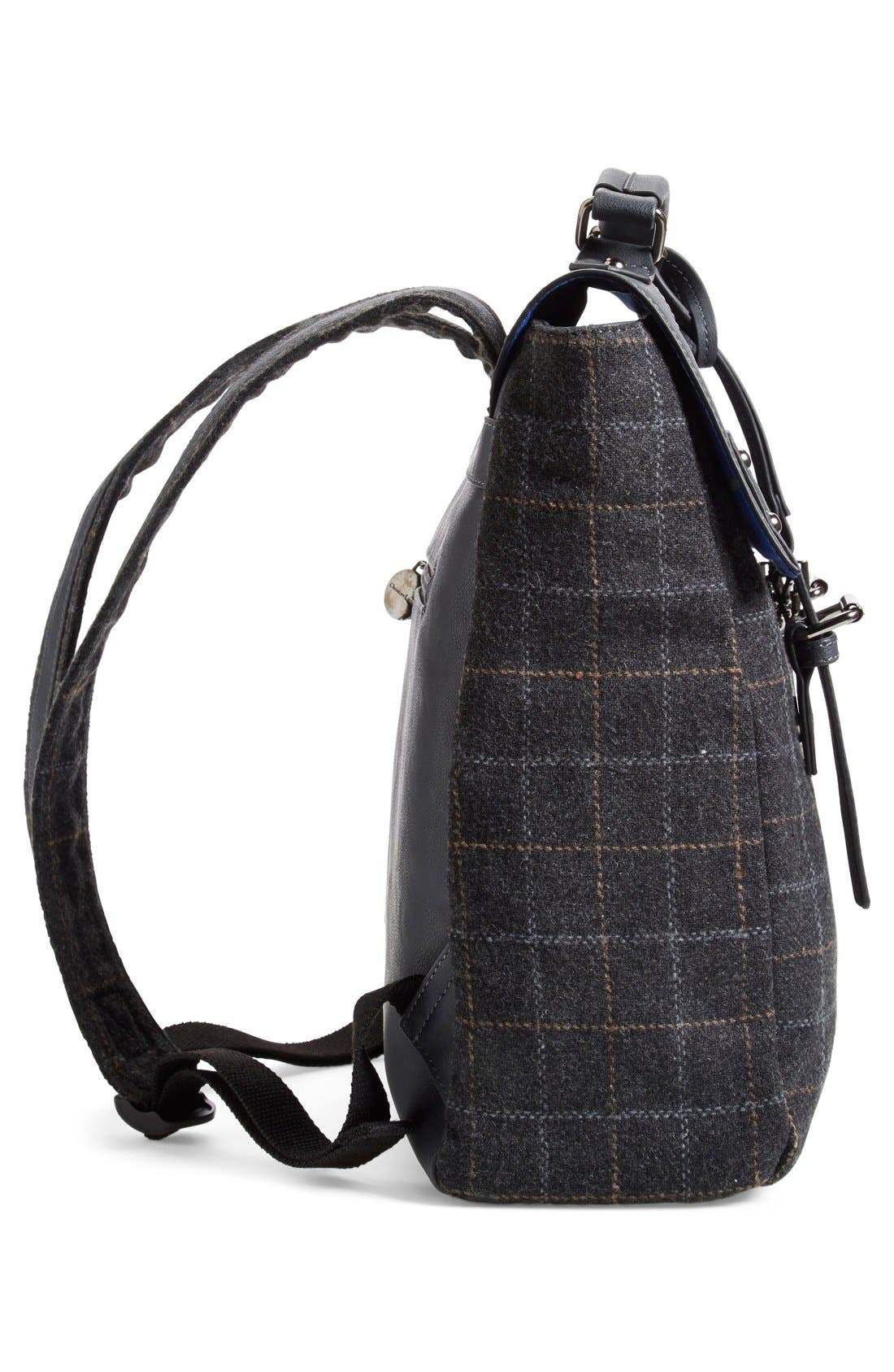 Alternate Image 5  - CXL by Christian Lacroix 'Strasbourg' Plaid Backpack