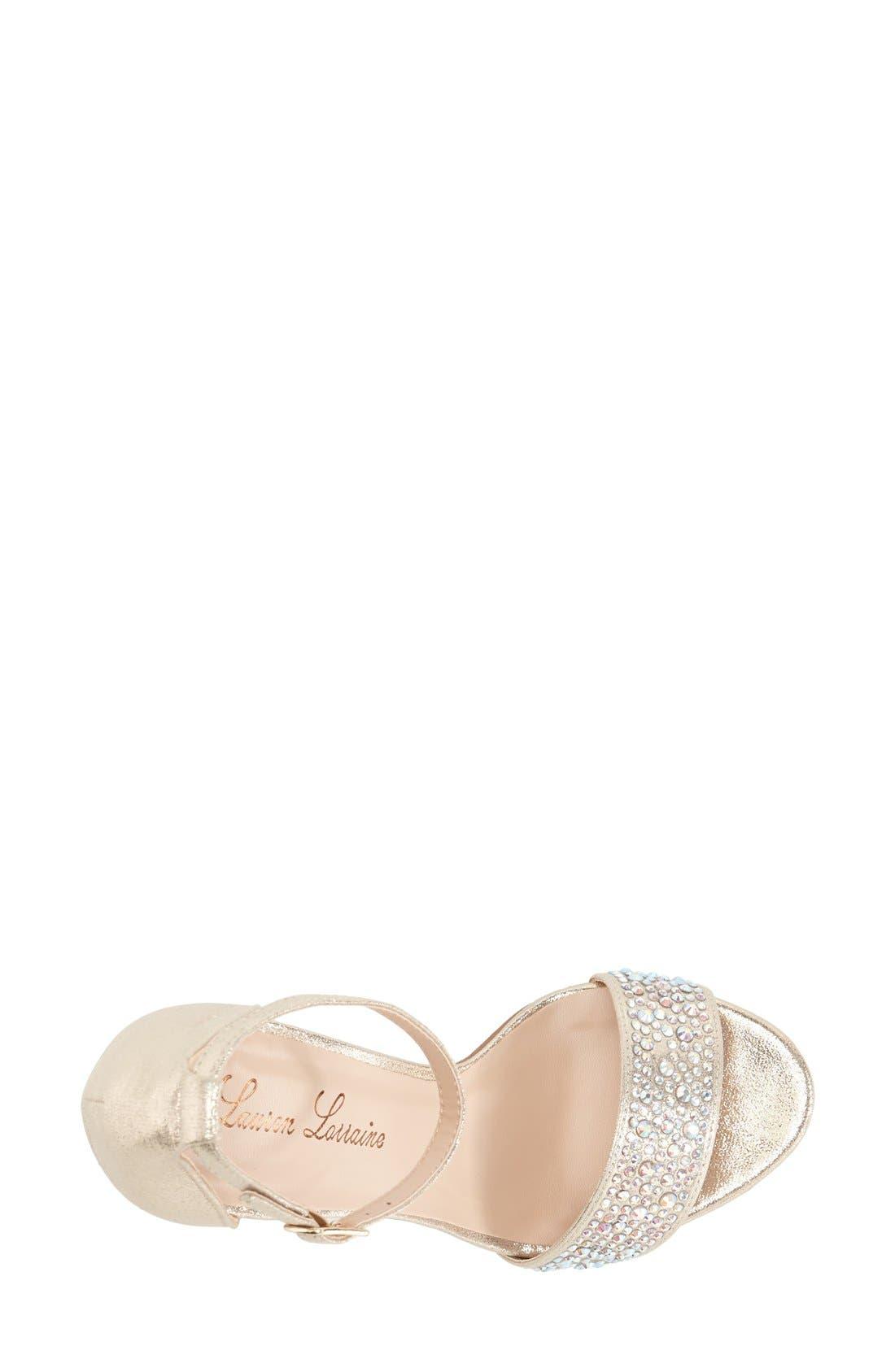 Alternate Image 3  - Lauren Lorraine 'Arielle' Ankle Strap Sandal (Women)