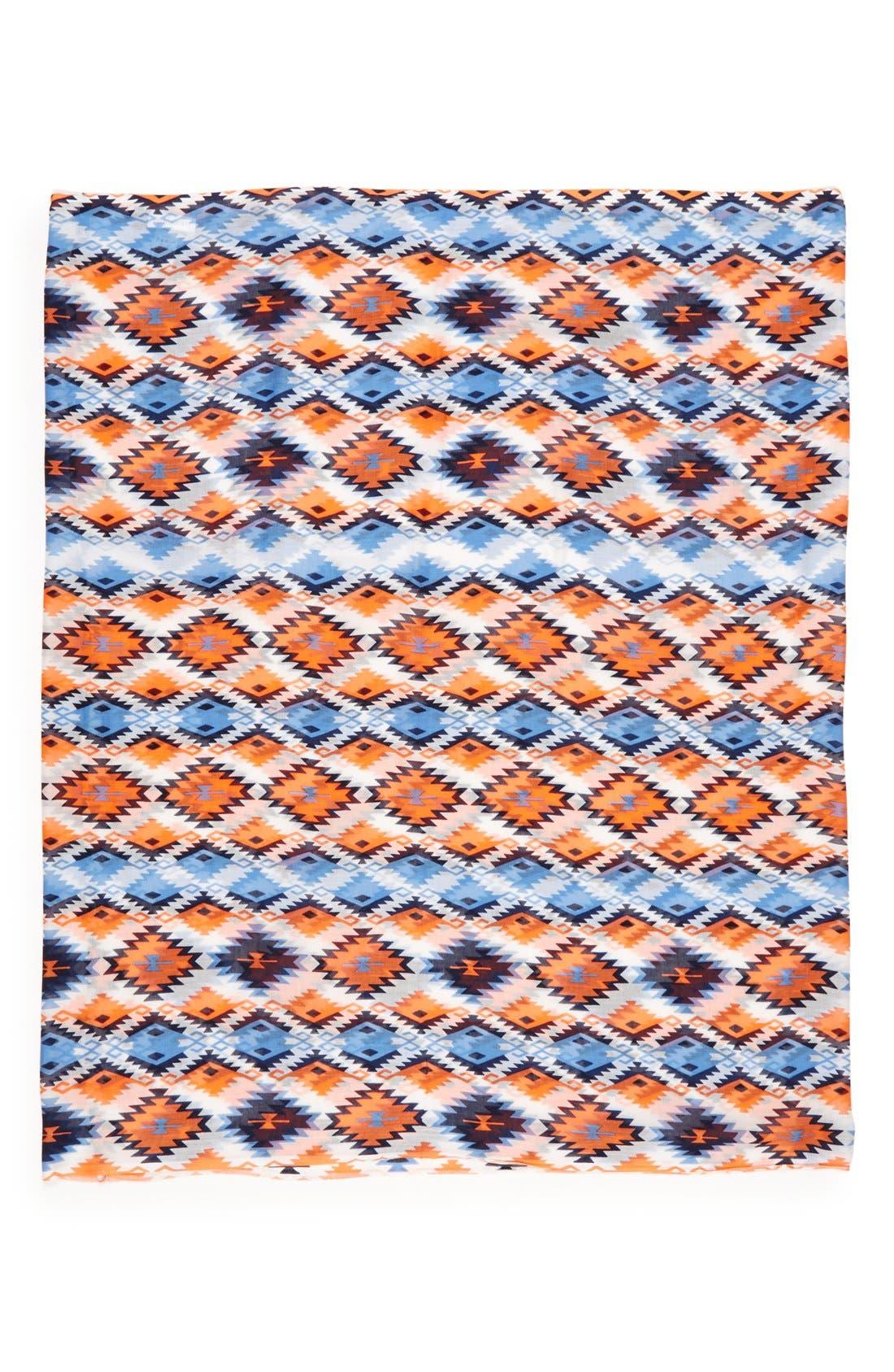 Alternate Image 2  - Sole Society Geometric Print Infinity Scarf