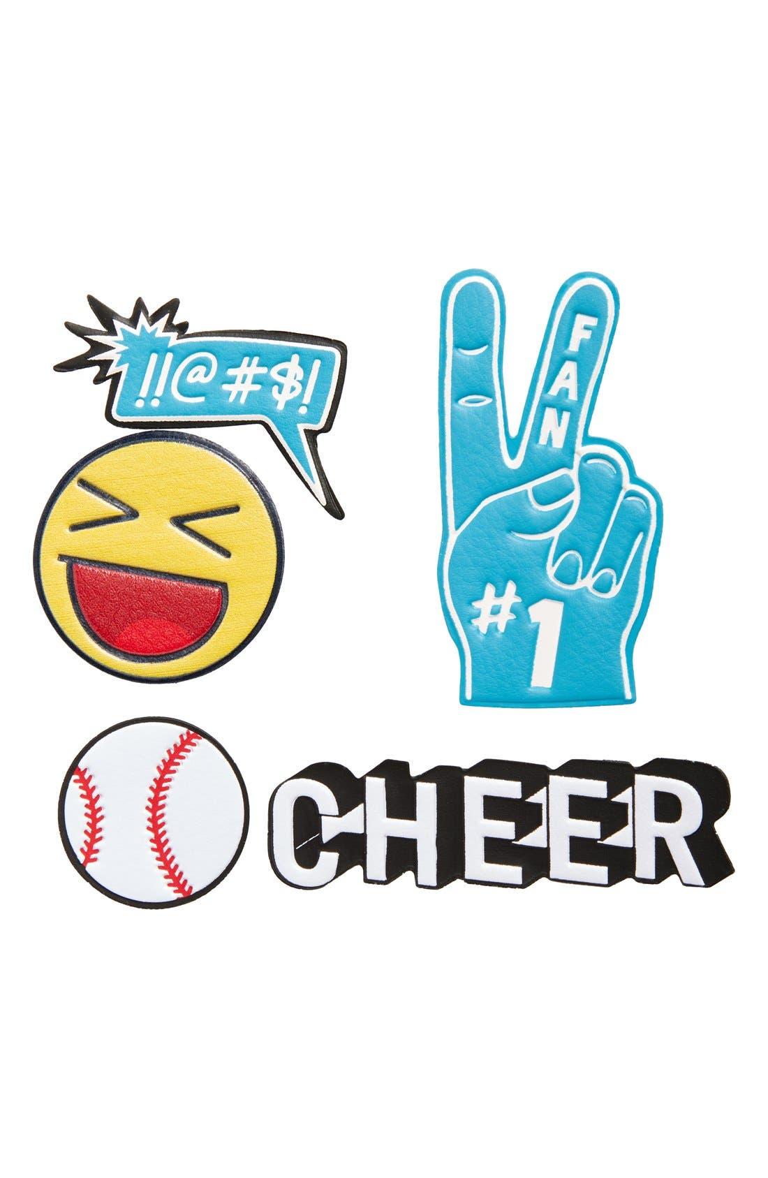 Main Image - Skinnydip 'Cheer' Plushie Stickers (Set of 5)