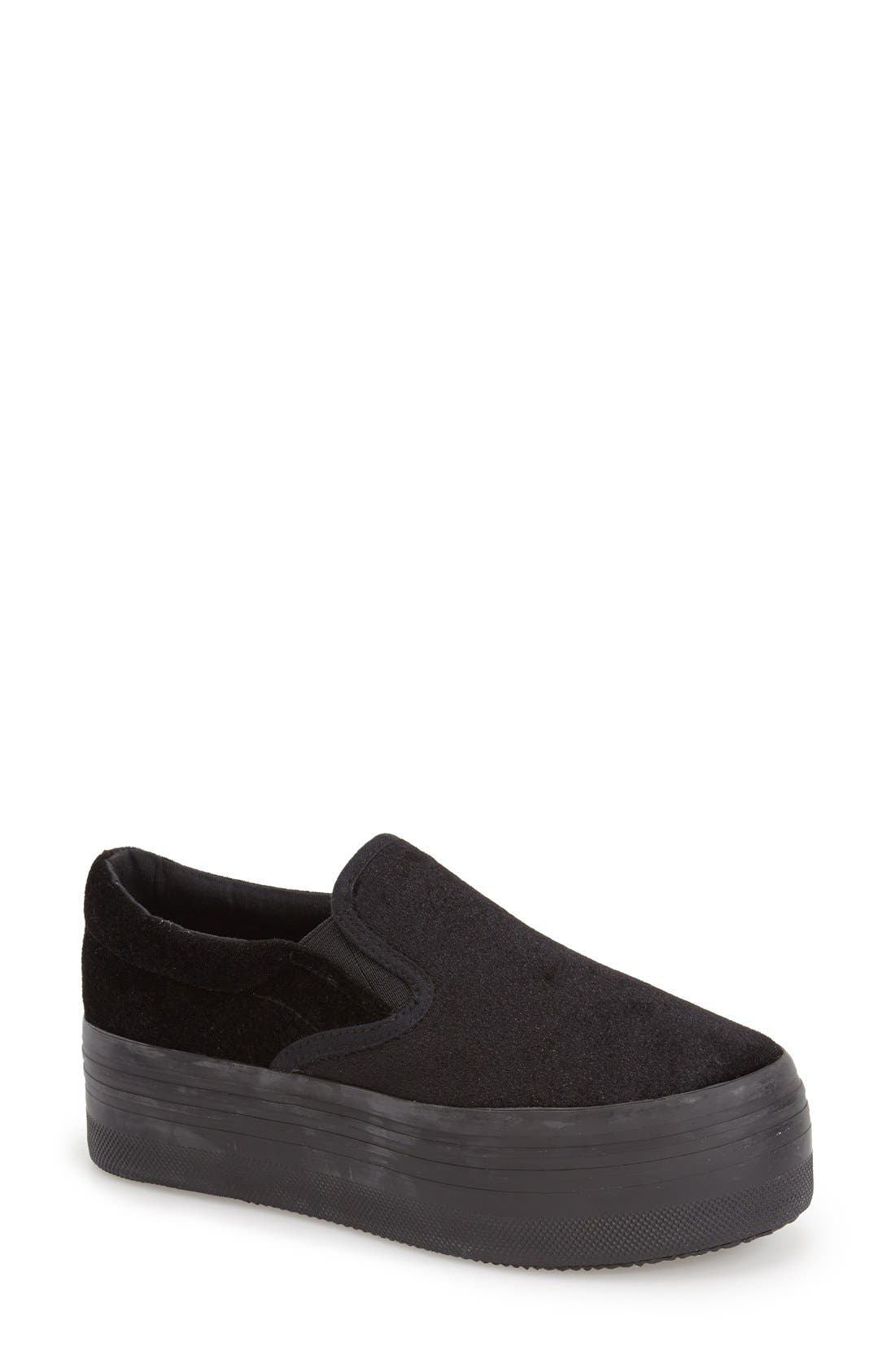 Alternate Image 1 Selected - Jeffrey Campbell 'See-Ya' Slip-On Platform Sneaker (Women)